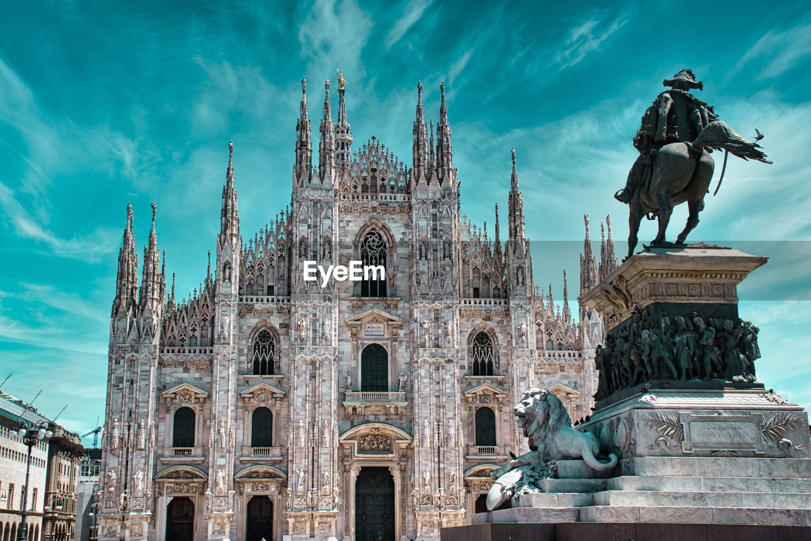 Duomo di milano, milan cathedral is the largest church in italy and the third largest in the world
