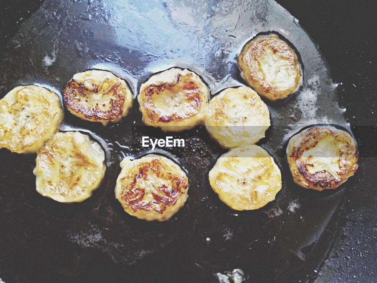 Pommes Dauphine Frying In Pan
