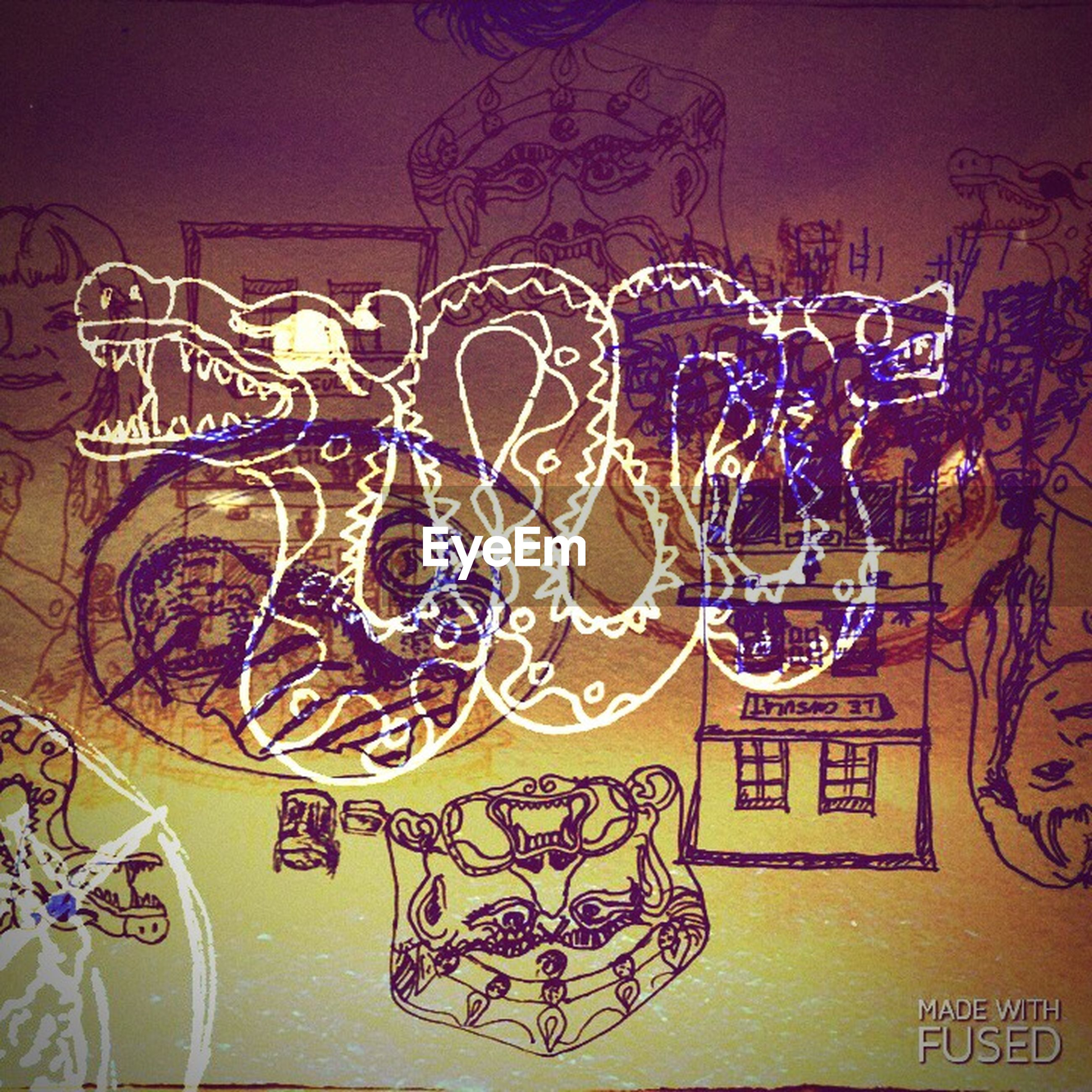 art, graffiti, creativity, art and craft, text, wall - building feature, multi colored, western script, indoors, built structure, communication, architecture, design, pattern, wall, human representation, street art, no people, animal representation, mural