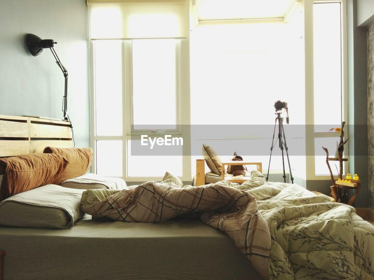 Interiors of bedroom