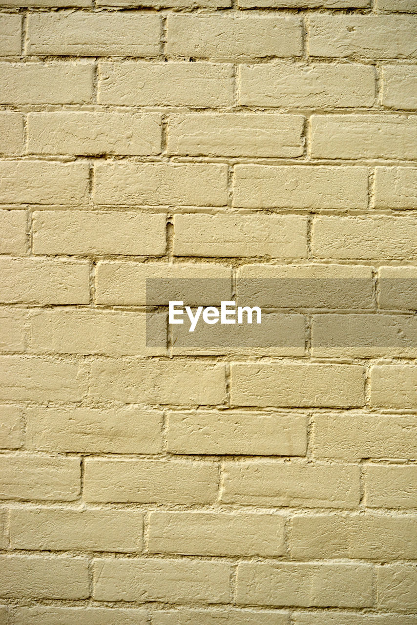 brick wall, textured, backgrounds, wall - building feature, brick, architecture, pattern, weathered, full frame, white color, textured effect, built structure, rough, fashion, yellow, close-up, no people, building exterior, outdoors, day