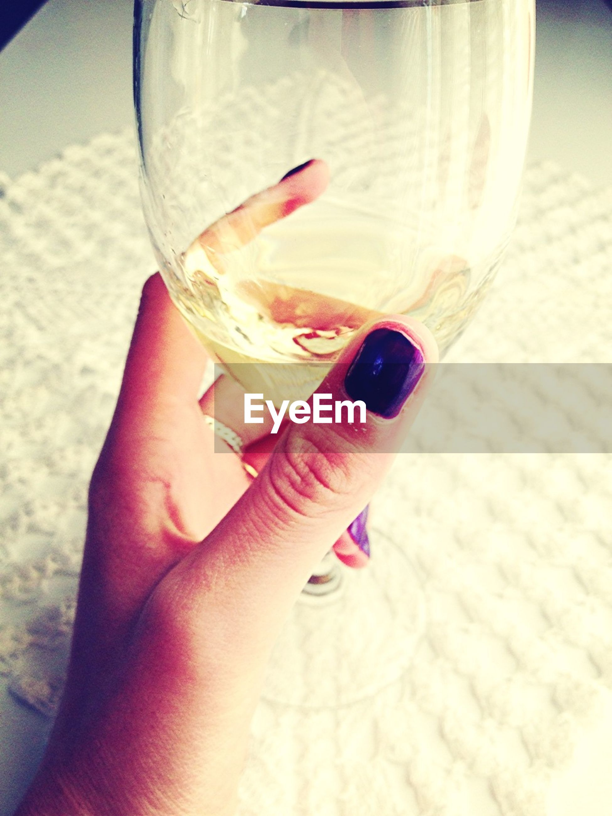 person, part of, cropped, holding, food and drink, indoors, close-up, human finger, glass - material, refreshment, drink, unrecognizable person, drinking glass, personal perspective, freshness, transparent, focus on foreground