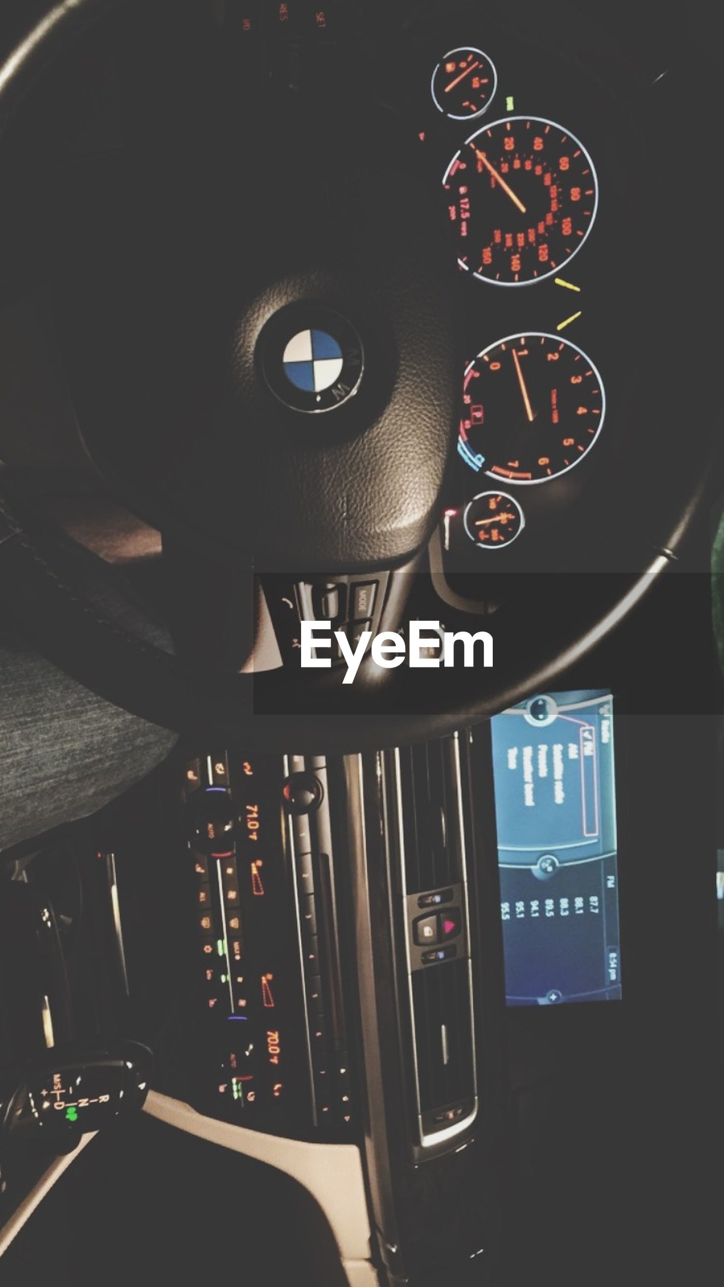 indoors, technology, car, land vehicle, close-up, transportation, communication, connection, retro styled, mode of transport, illuminated, arts culture and entertainment, old-fashioned, no people, high angle view, night, music, vehicle interior, car interior, control