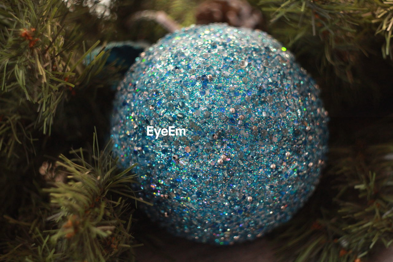 celebration, christmas, christmas decoration, christmas tree, tradition, no people, close-up, christmas ornament, blue, multi colored, indoors, day