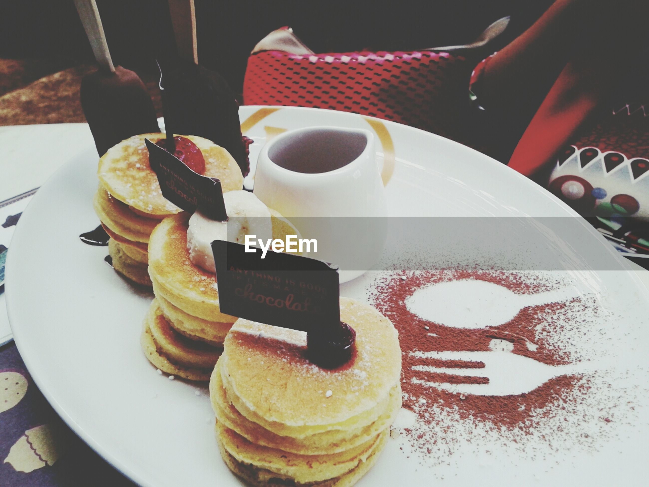 food and drink, sweet food, food, indoors, freshness, dessert, ready-to-eat, indulgence, unhealthy eating, plate, still life, table, cake, chocolate, temptation, serving size, high angle view, close-up, pastry, fork