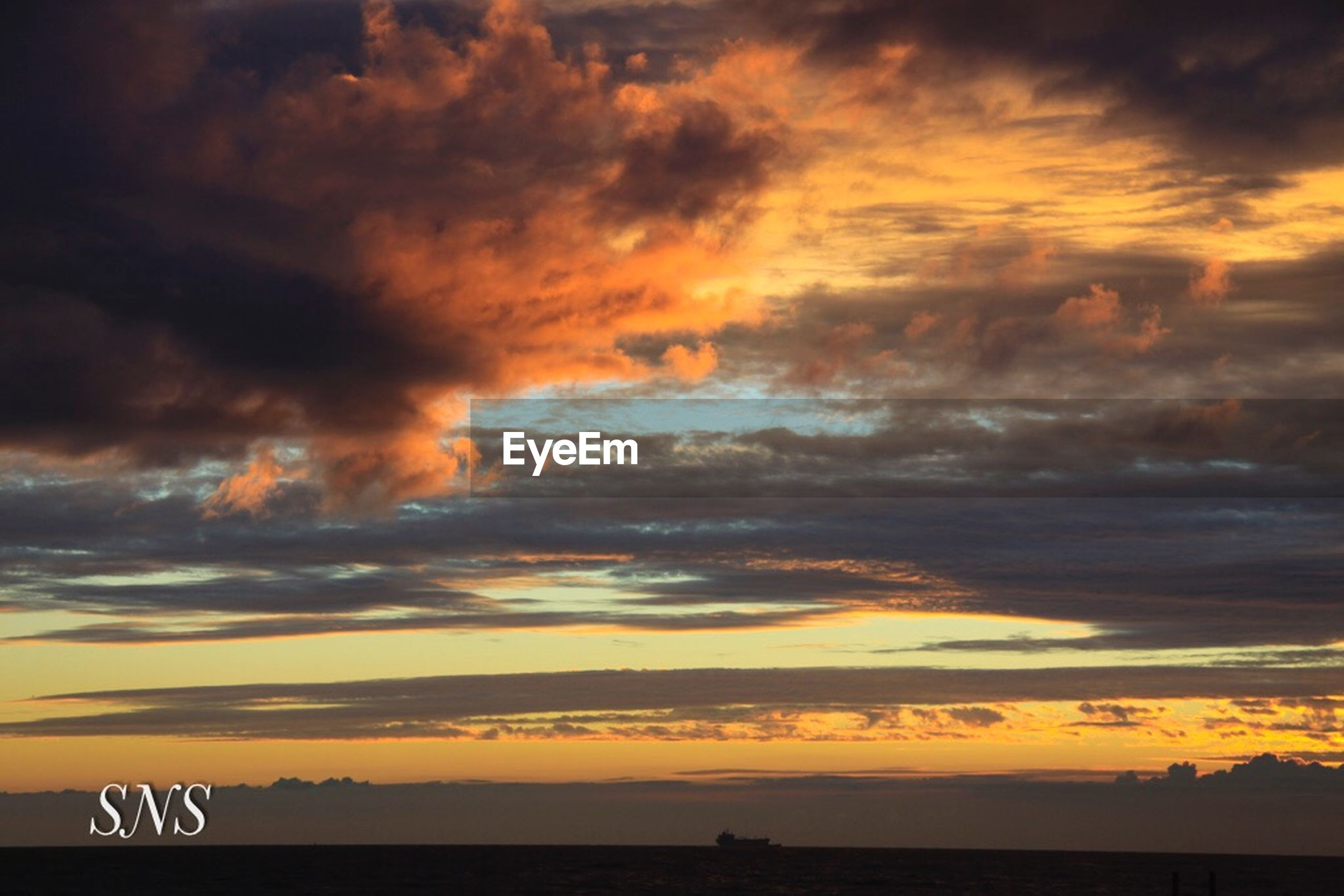 cloud - sky, sky, sunset, beauty in nature, scenics - nature, orange color, tranquil scene, tranquility, nature, no people, silhouette, idyllic, dramatic sky, text, outdoors, sign, communication, number, western script, horizon