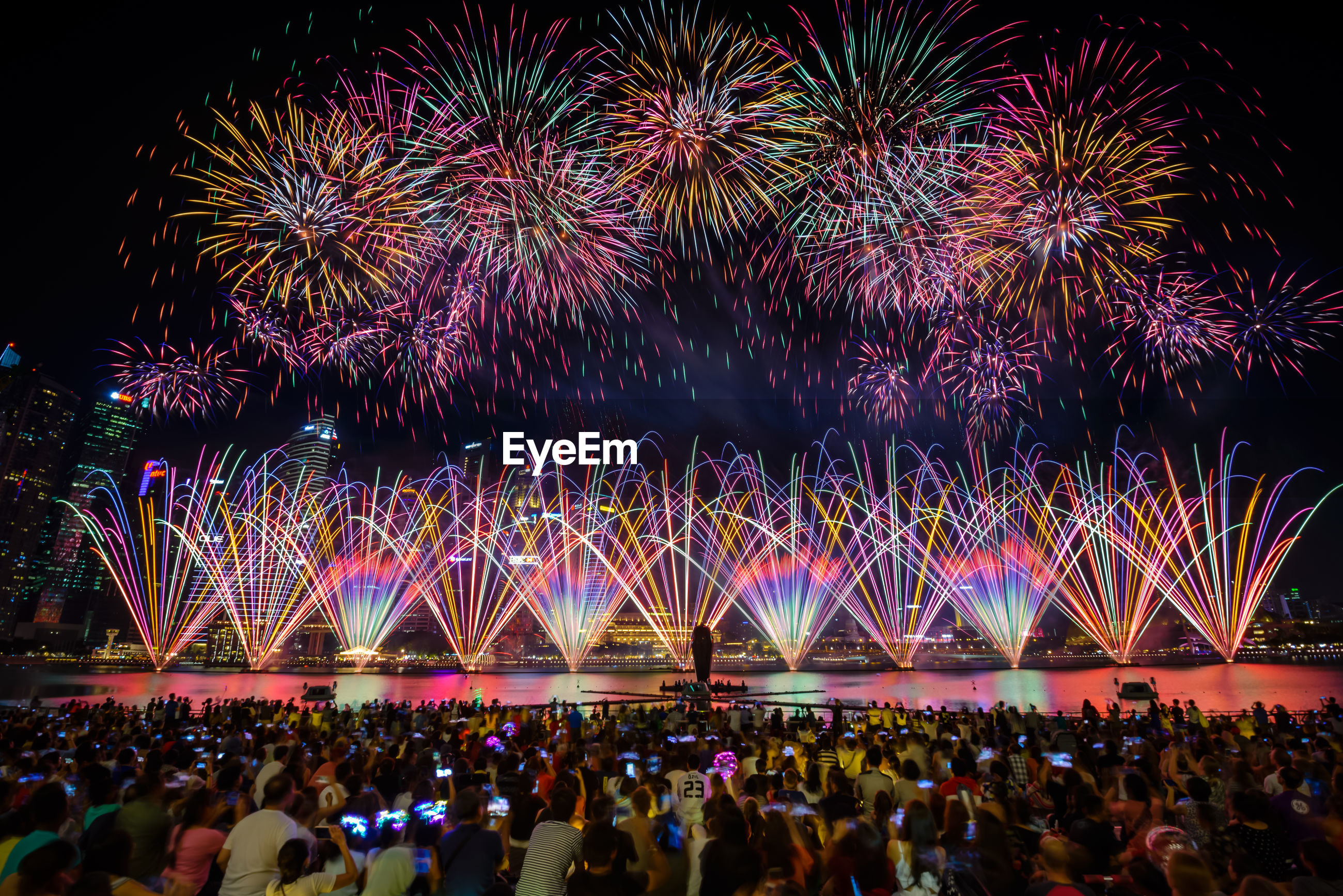 Pre fireworks performance for national day sg 54