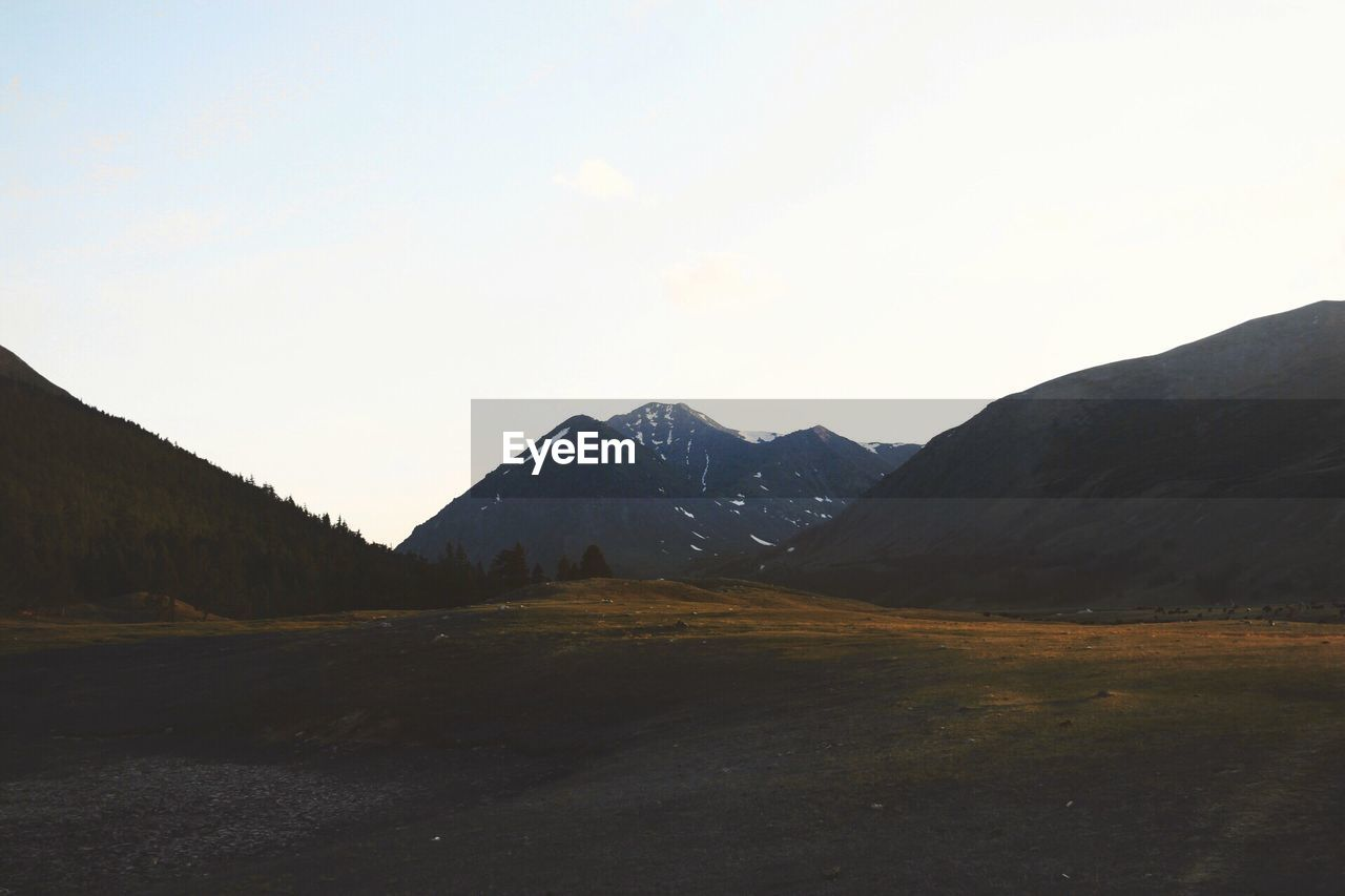 mountain, landscape, nature, beauty in nature, no people, sky, outdoors, scenery, day, range