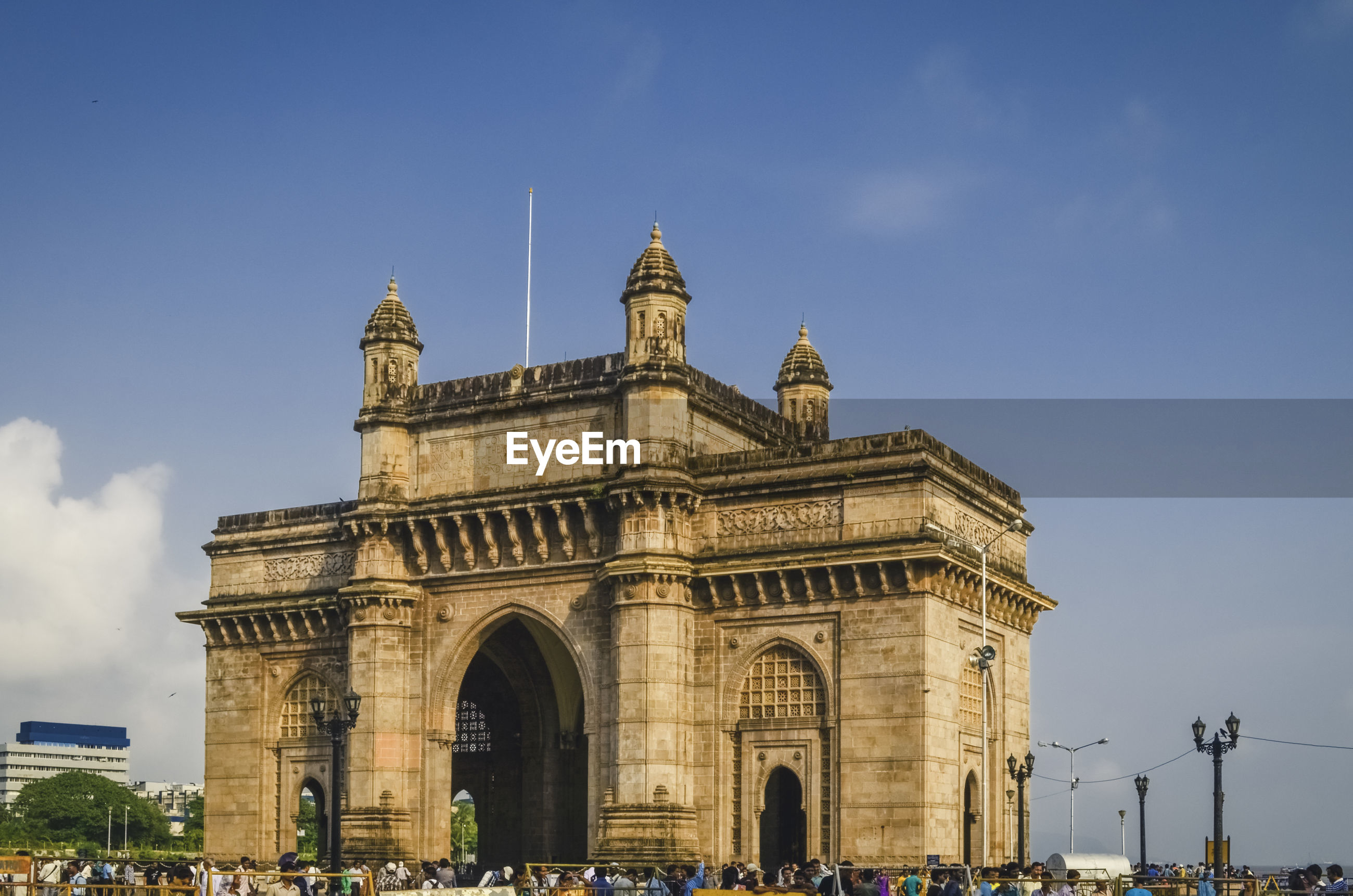 Gateway to india against sky