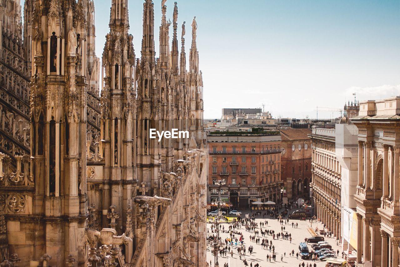Historical Buildings Against Sky