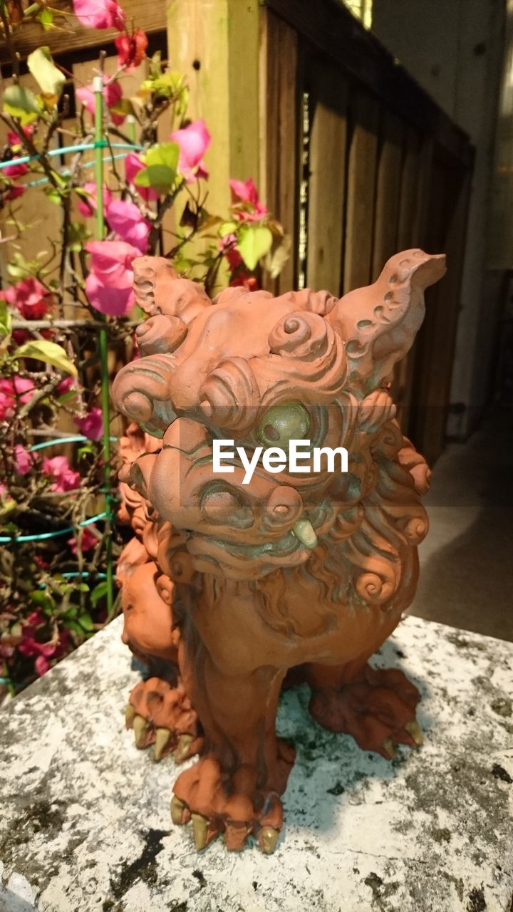 statue, sculpture, animal representation, religion, spirituality, outdoors, no people, dragon, day, chinese dragon, close-up