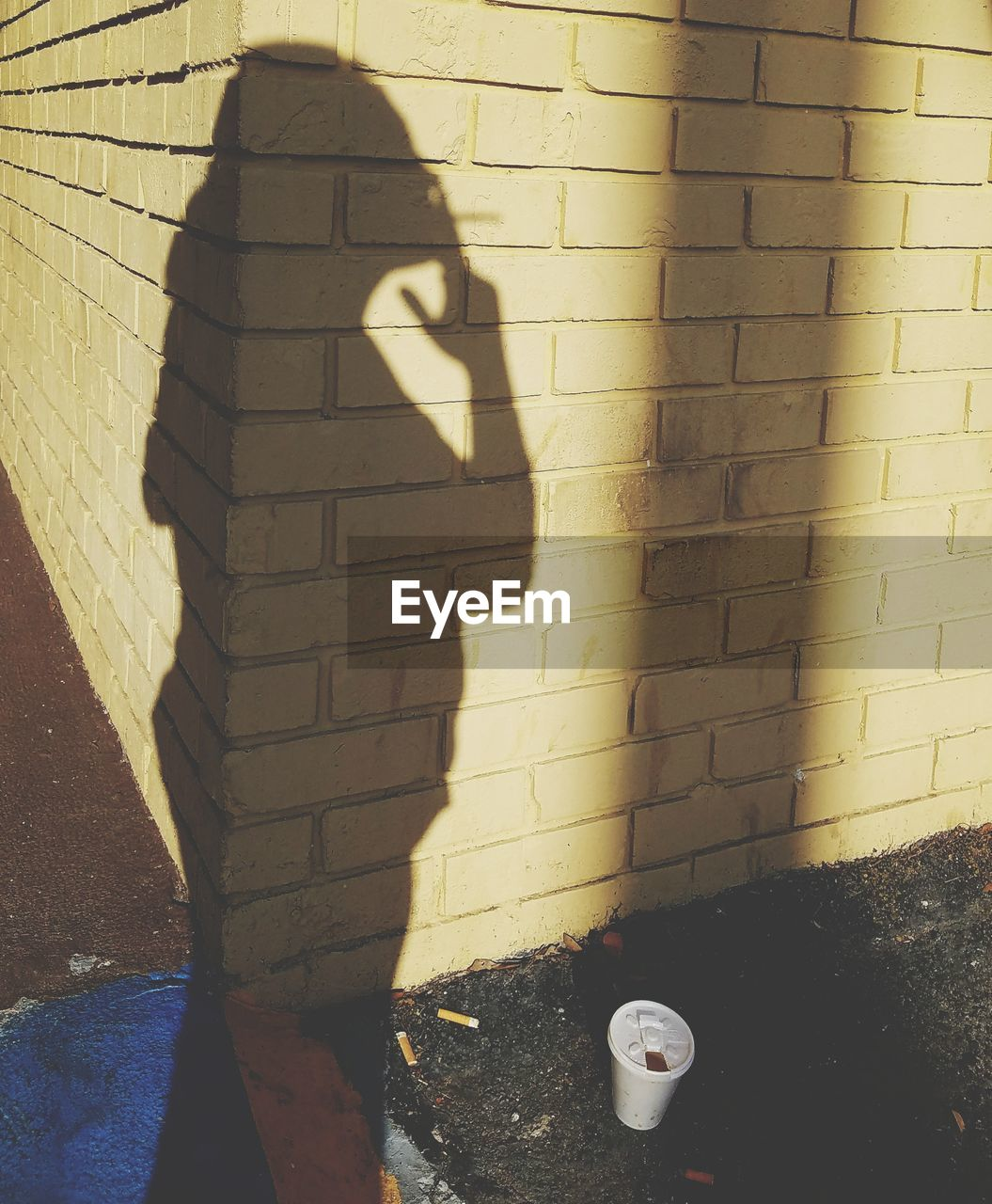 shadow, sunlight, focus on shadow, real people, day, one person, standing, outdoors, architecture, people
