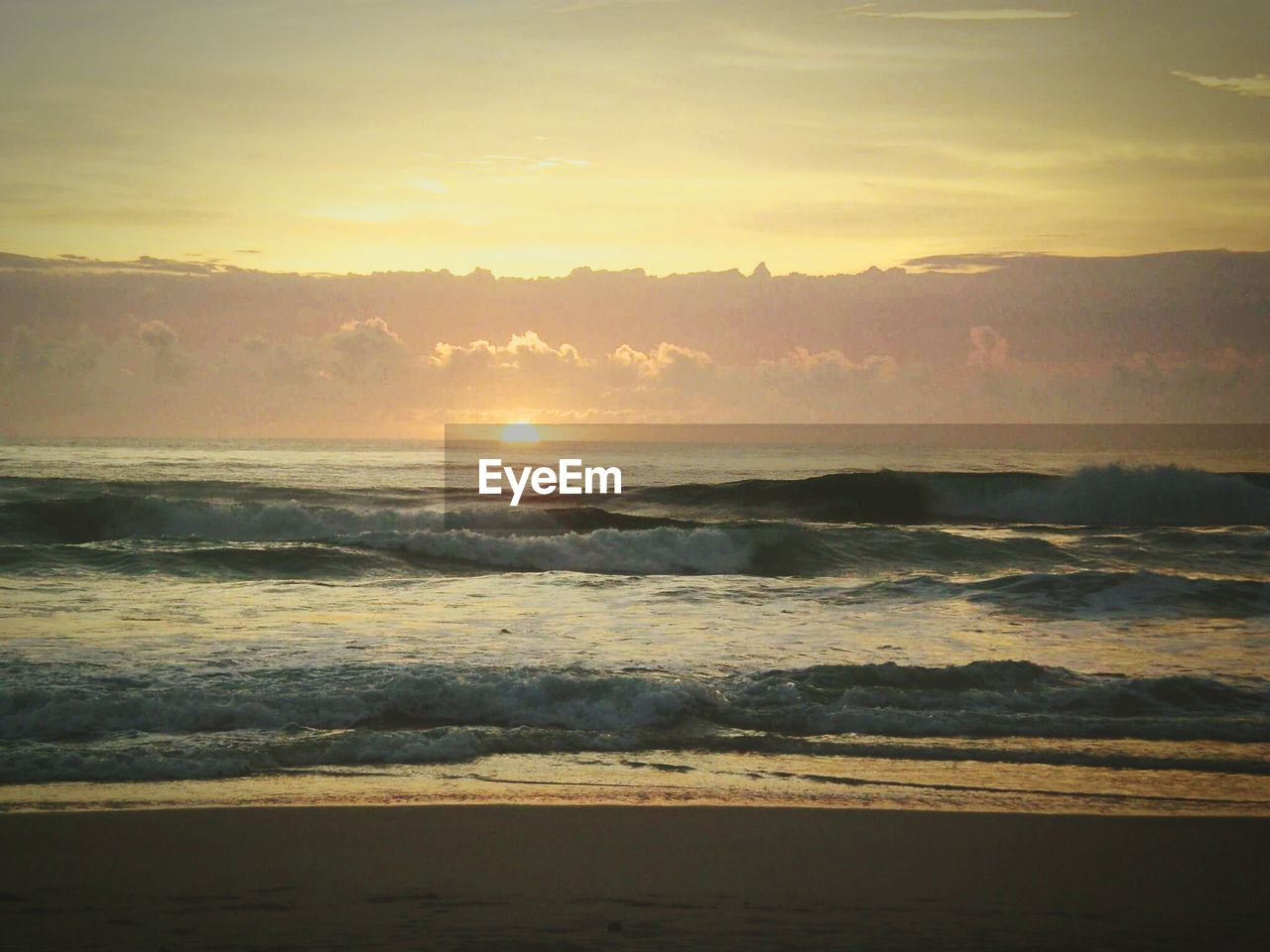 sunset, nature, sea, beauty in nature, water, scenics, wave, no people, tranquility, tranquil scene, outdoors, sky, beach, day
