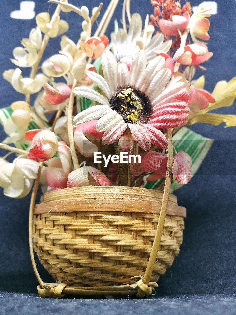 basket, flower, freshness, no people, day, outdoors, close-up, fragility, food, flower head, beauty in nature, nature
