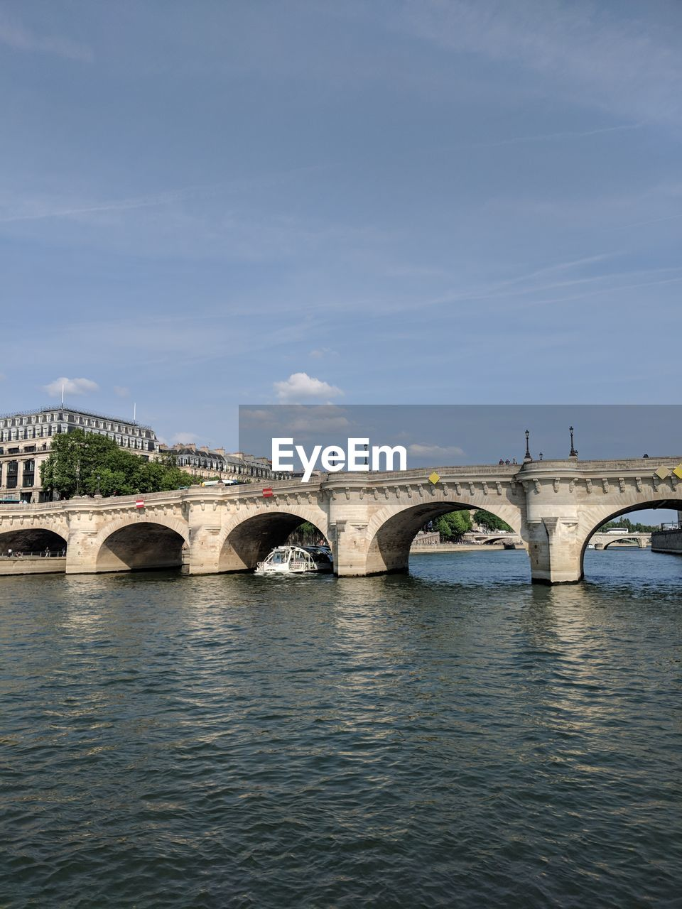 bridge, bridge - man made structure, connection, water, built structure, architecture, arch, sky, transportation, waterfront, river, arch bridge, cloud - sky, nature, no people, day, outdoors, city, arched
