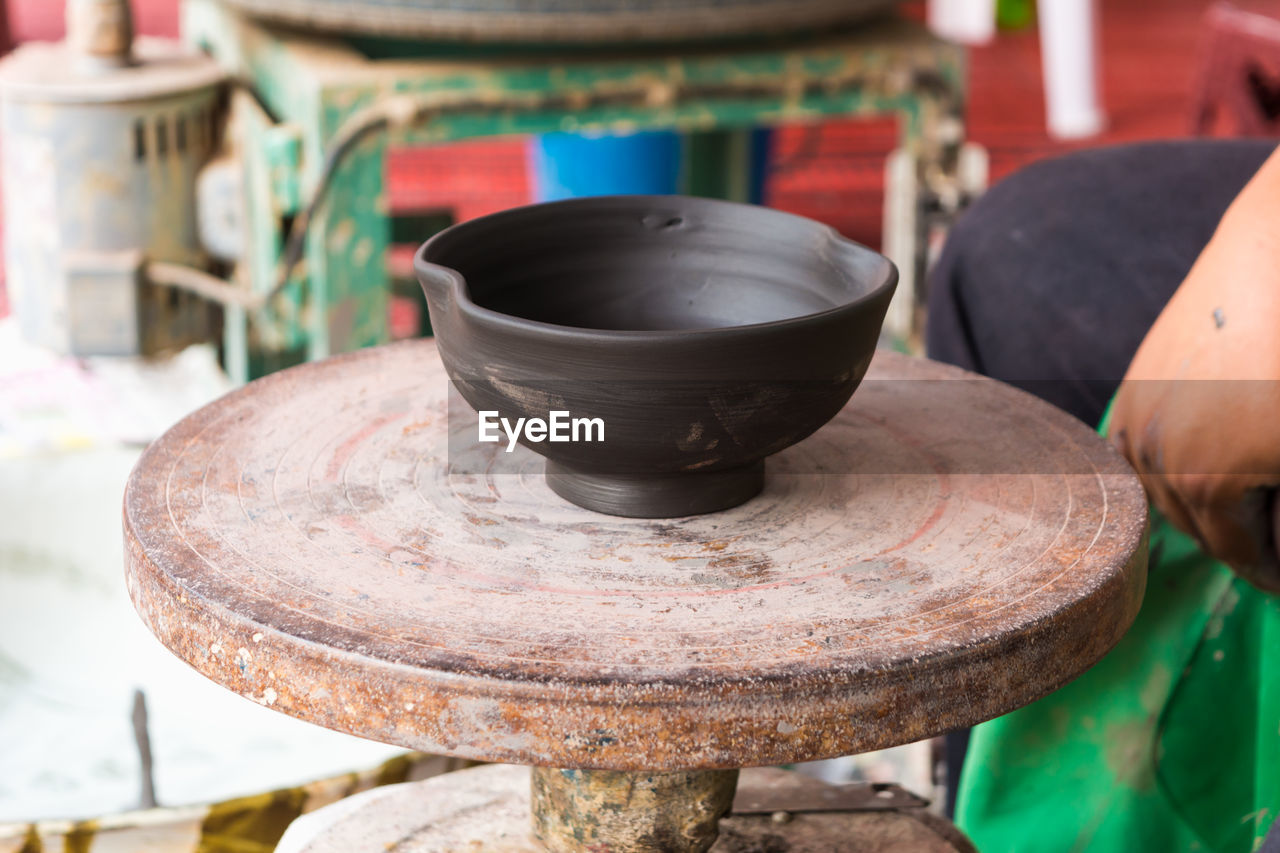 View Of Earthenware Pot