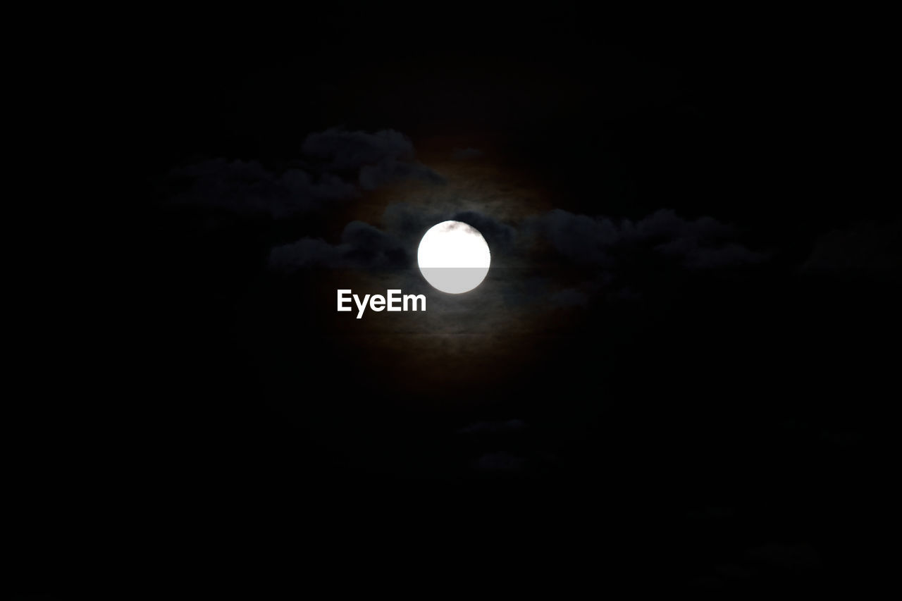 moon, night, astronomy, scenics, beauty in nature, nature, full moon, sky, majestic, planetary moon, tranquil scene, tranquility, idyllic, eclipse, dark, half moon, moon surface, space exploration, moonlight, crescent, natural phenomenon, outdoors, space, cloud - sky, solar eclipse, no people, discovery, sky only, low angle view