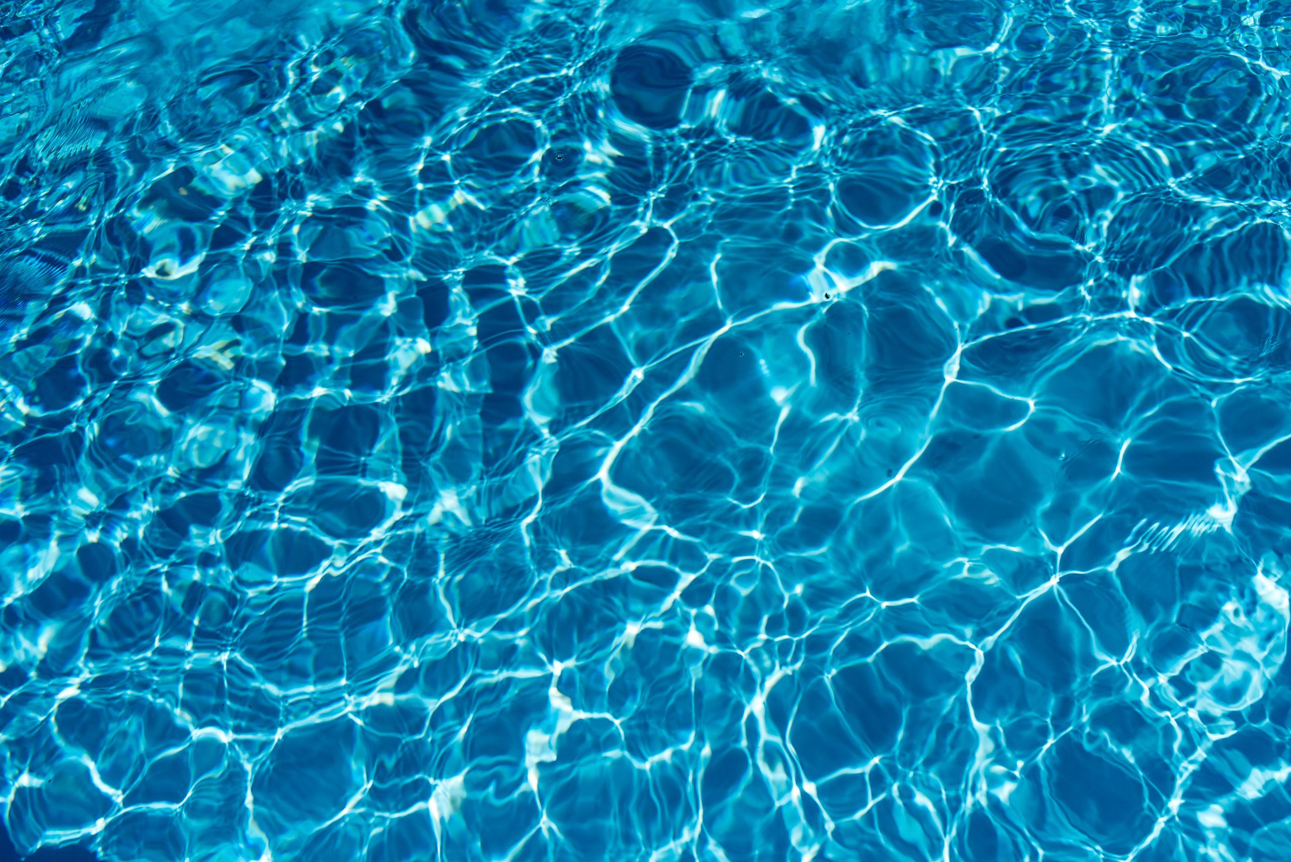 Full frame shot of rippled swimming pool