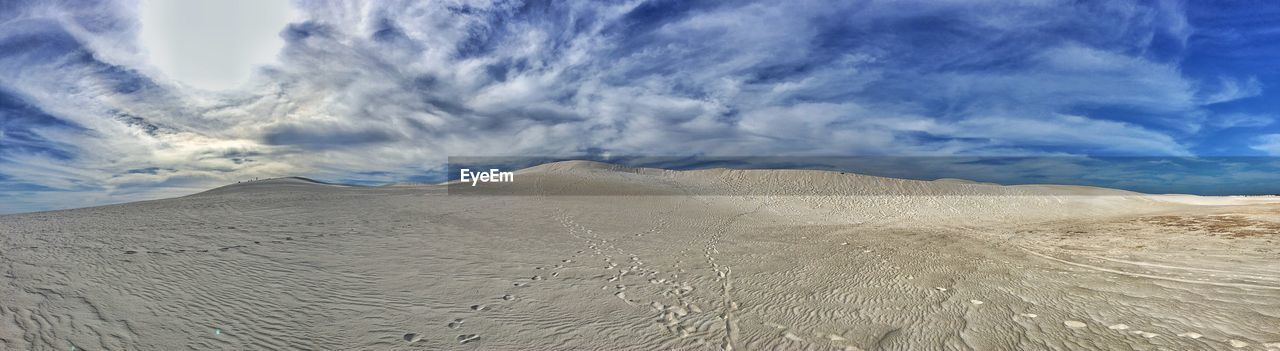 sand, sand dune, sky, nature, cloud - sky, arid climate, scenics, desert, landscape, tranquility, beauty in nature, physical geography, day, outdoors, no people
