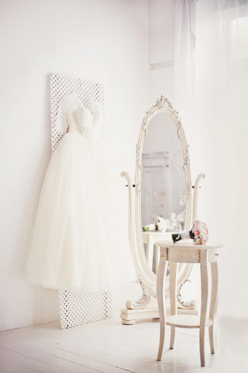 Romantic wedding concept.