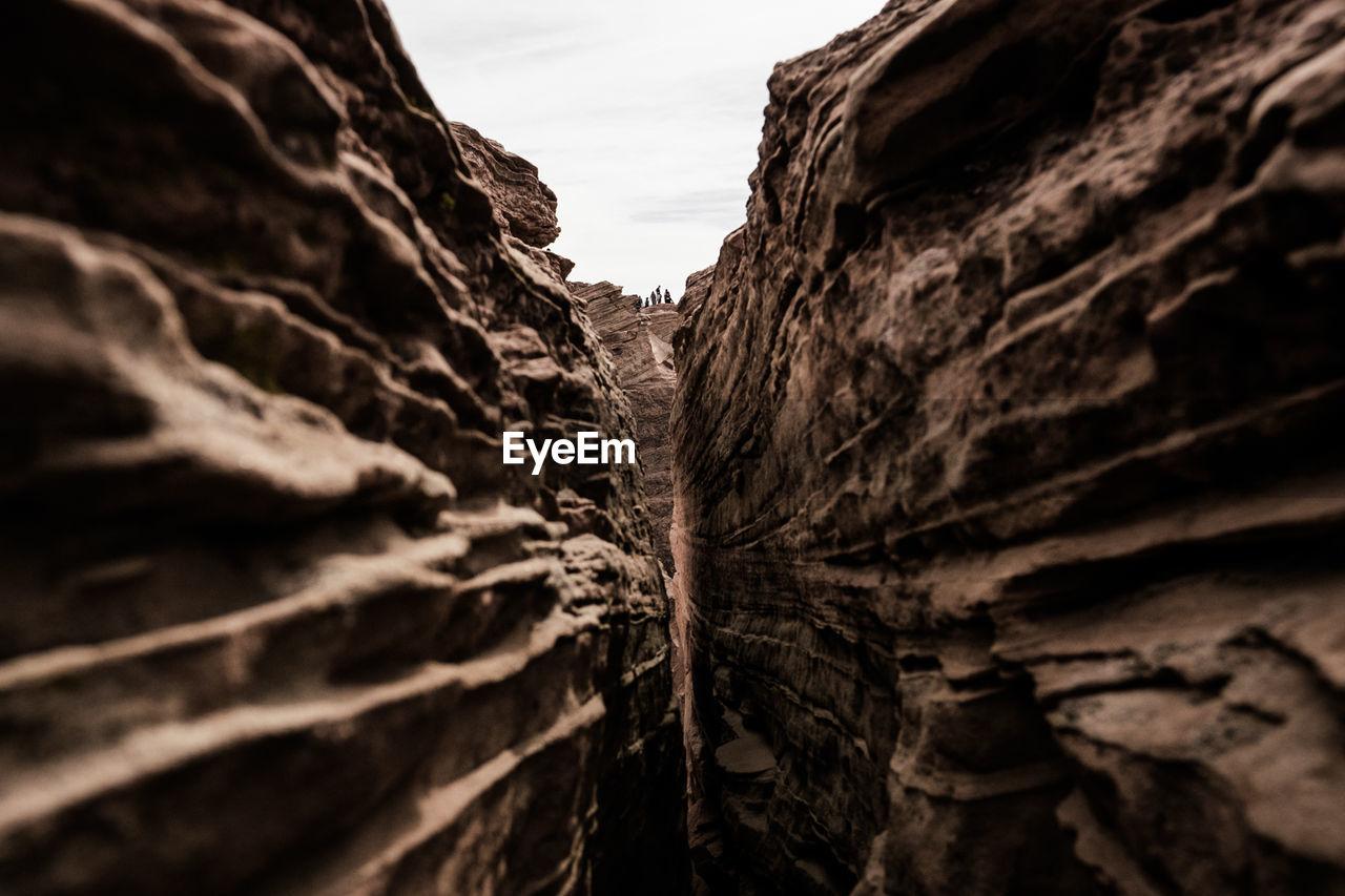 Rock Formations At Grand Canyon