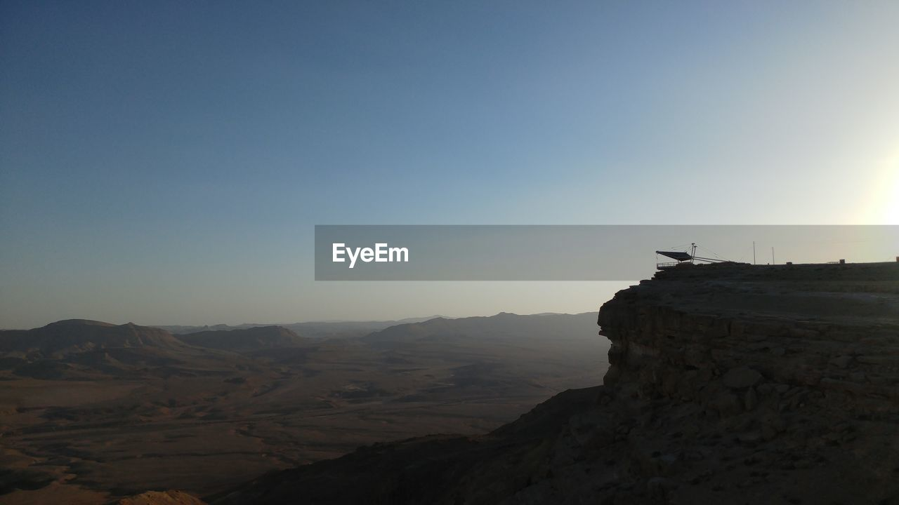 copy space, mountain, sunset, nature, landscape, outdoors, clear sky, beauty in nature, scenics, sky, architecture, no people, day