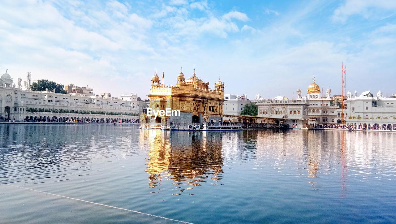 Most important pilgrimage site of sikhism housing golden temple