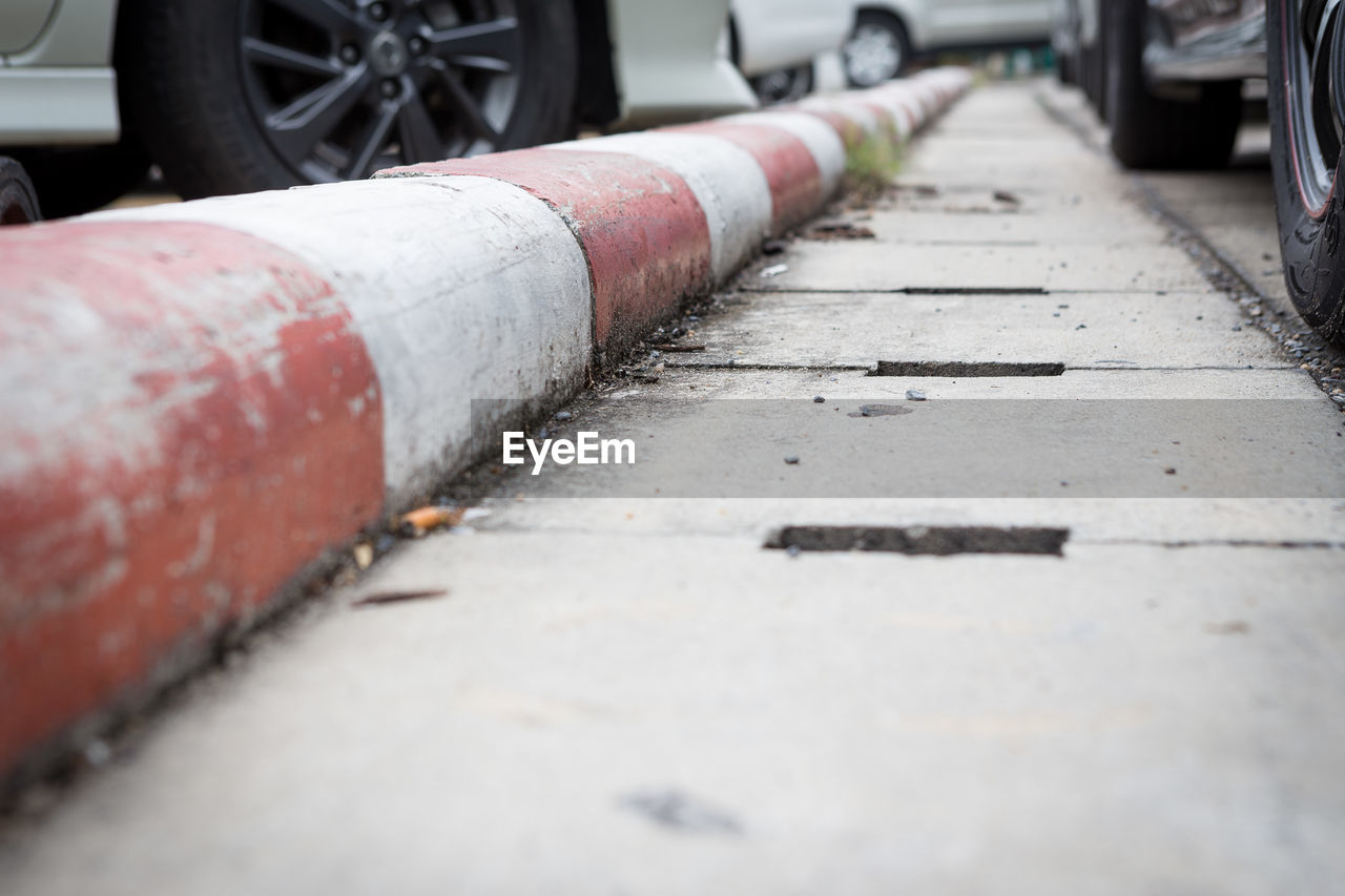 pipe - tube, day, no people, selective focus, transportation, outdoors, architecture, industry, metal, footpath, city, street, built structure, pipeline, rusty, surface level, nature, diminishing perspective, road, connection