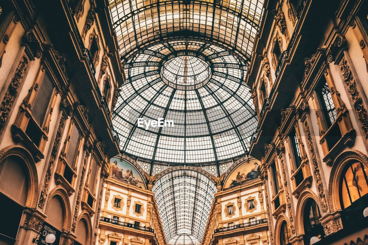 architecture, built structure, ceiling, dome, indoors, architectural feature, travel destinations, low angle view, no people, symmetry, history, cupola, day, modern, city