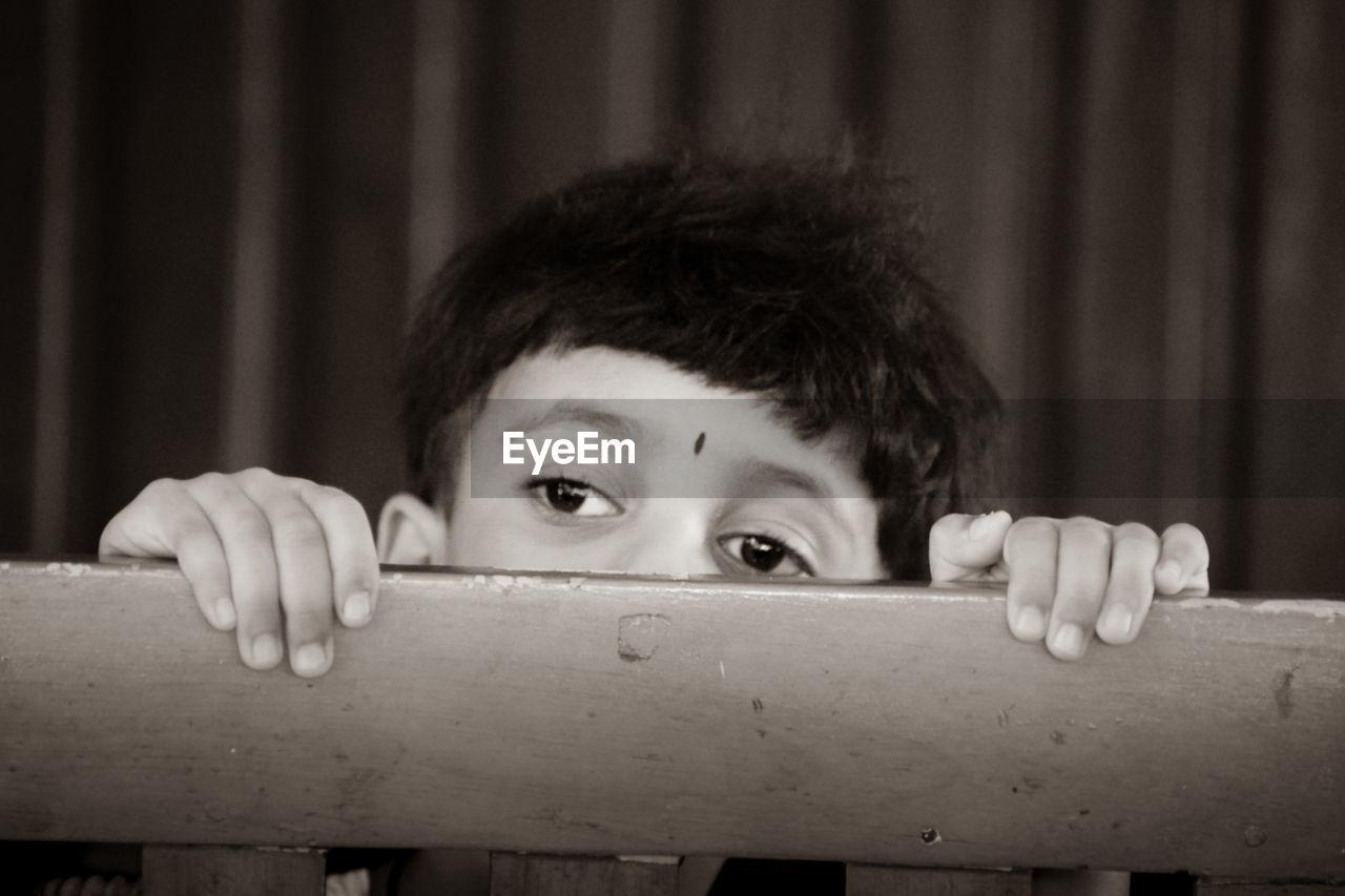 Strange look of the innocence eye