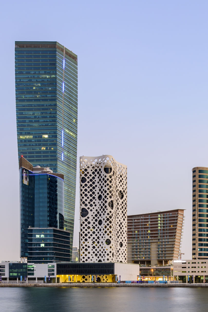 building exterior, built structure, architecture, city, building, office building exterior, skyscraper, sky, tall - high, modern, clear sky, office, nature, urban skyline, residential district, landscape, cityscape, day, no people, city life, outdoors, financial district