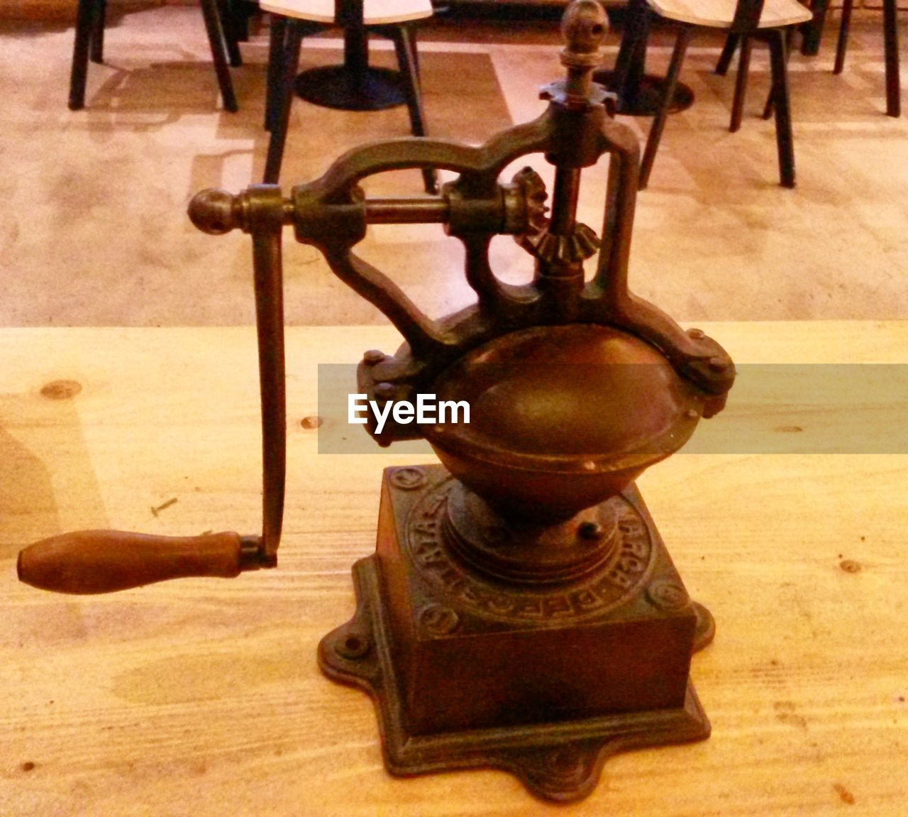 indoors, table, old-fashioned, wood - material, close-up, no people, antique, day