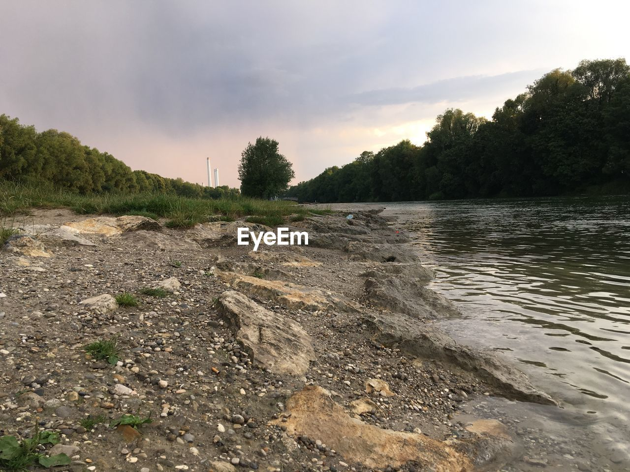 sky, water, plant, tree, cloud - sky, beauty in nature, nature, tranquility, scenics - nature, tranquil scene, no people, non-urban scene, land, sunset, outdoors, river, day, remote, environment, flowing water