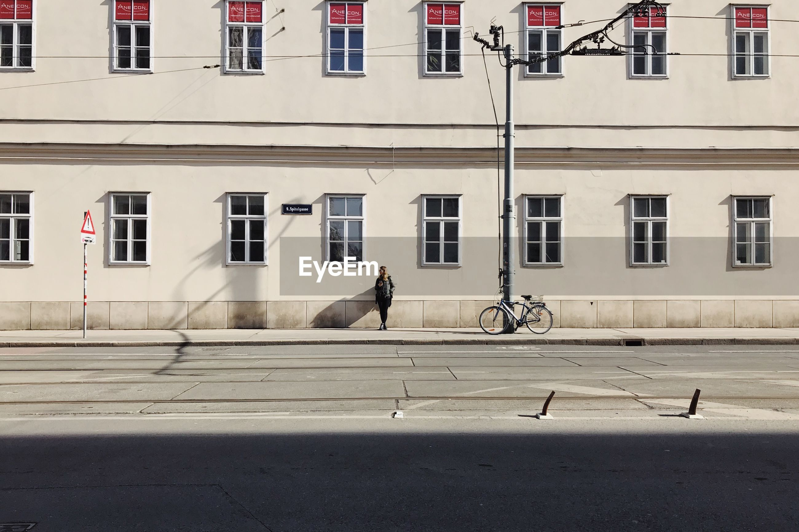 VIEW OF DOG ON BUILDING