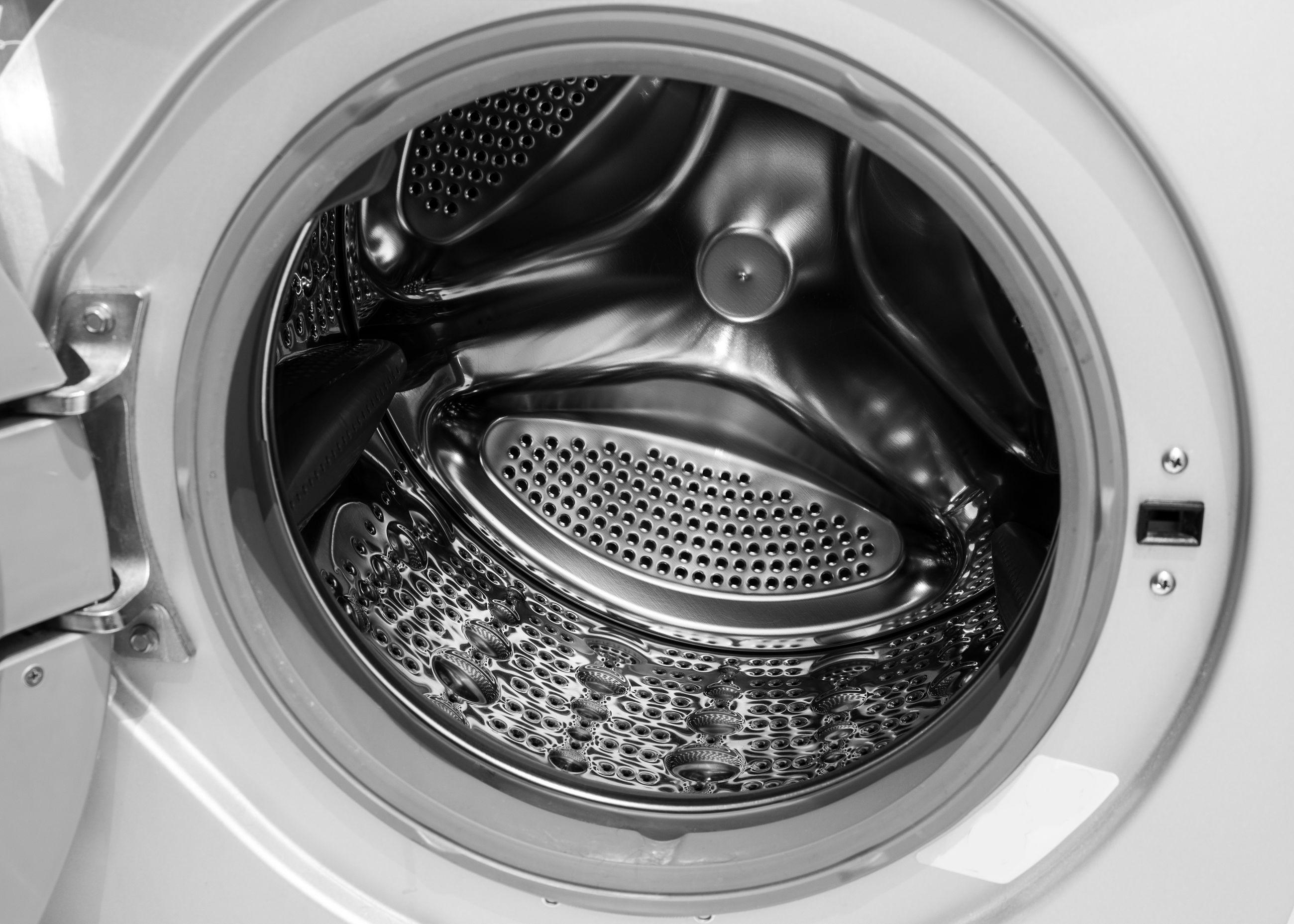 Directly above shot of washing machine