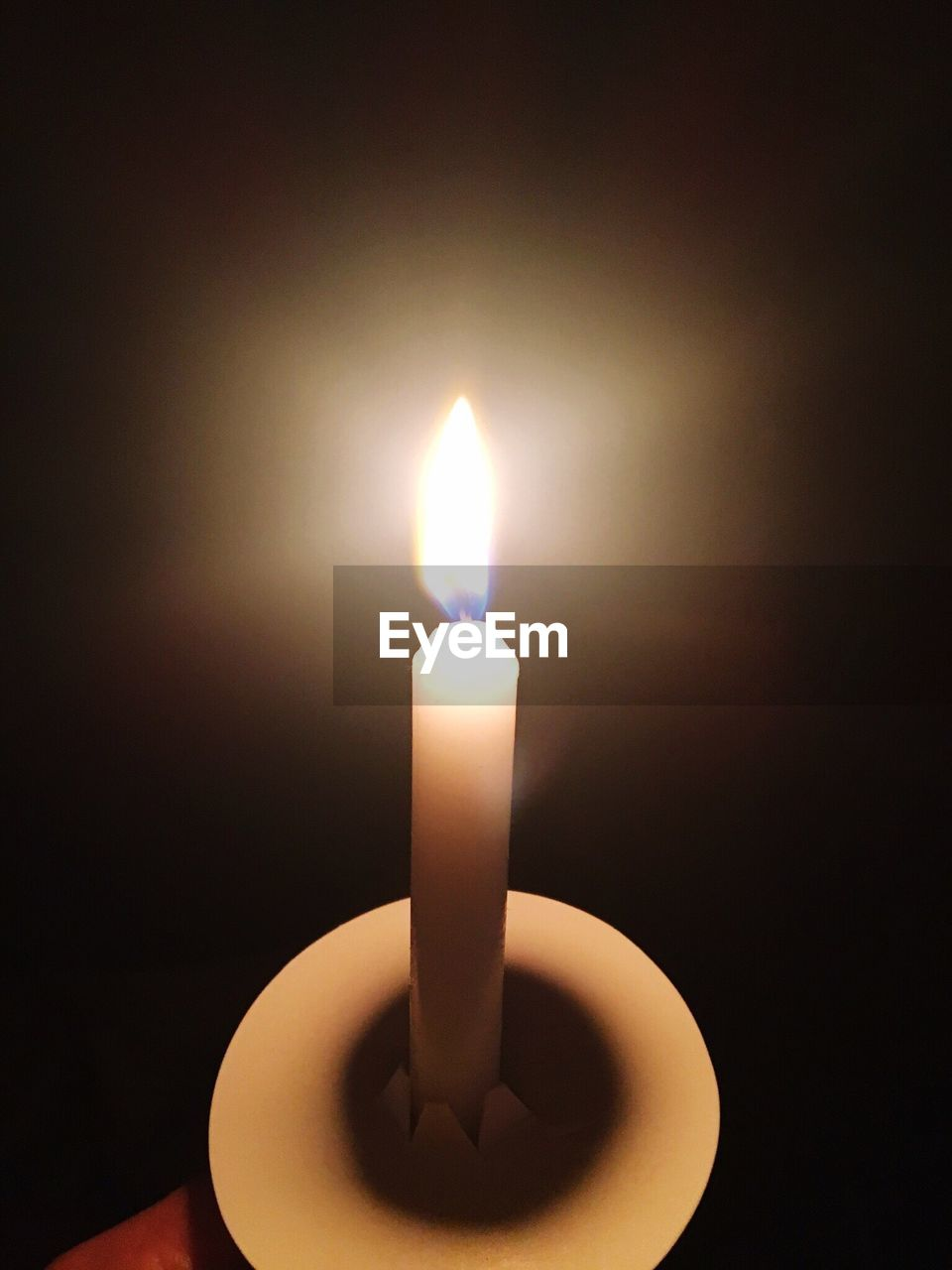 candle, flame, burning, glowing, heat - temperature, illuminated, no people, close-up, indoors