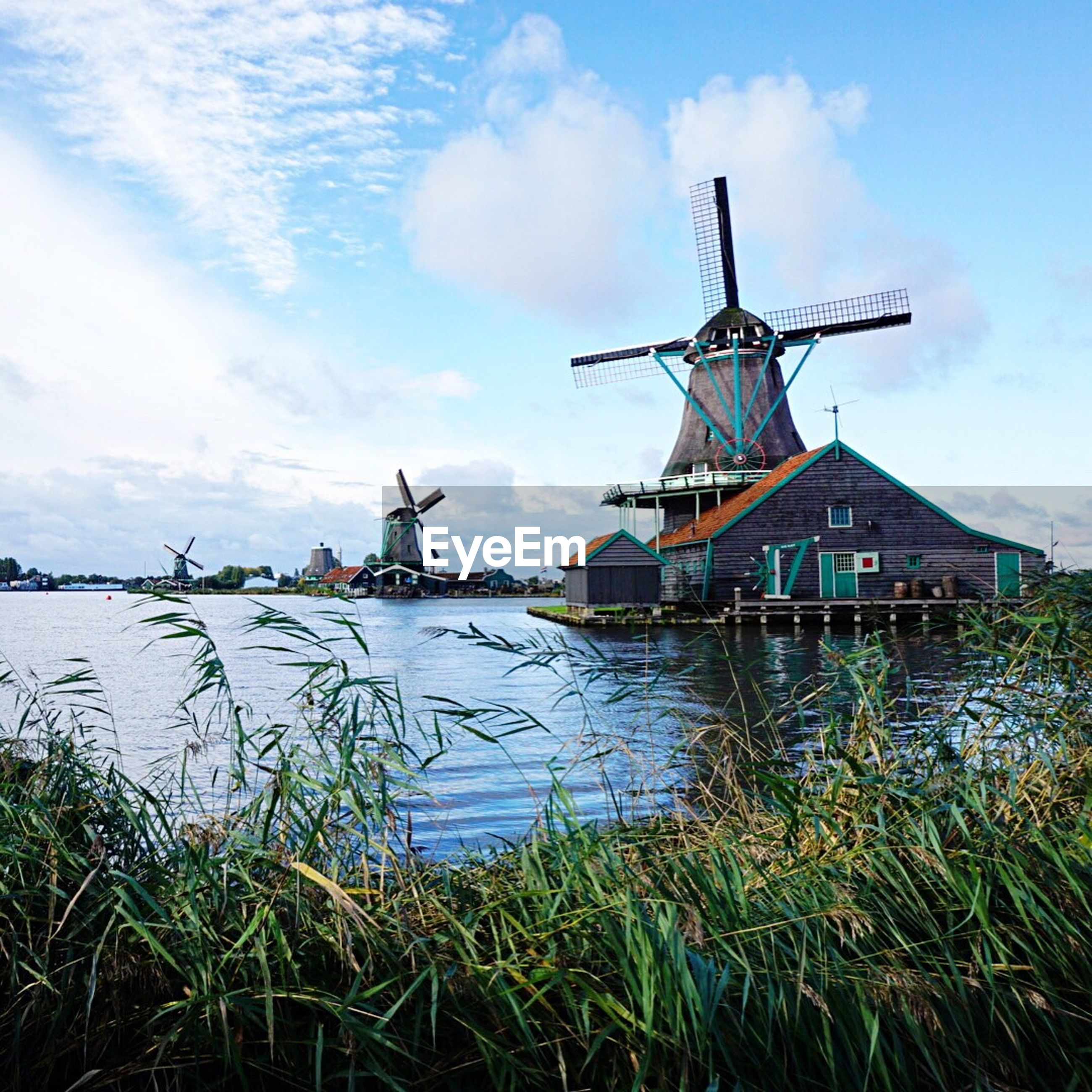 TRADITIONAL WINDMILL IN WATER