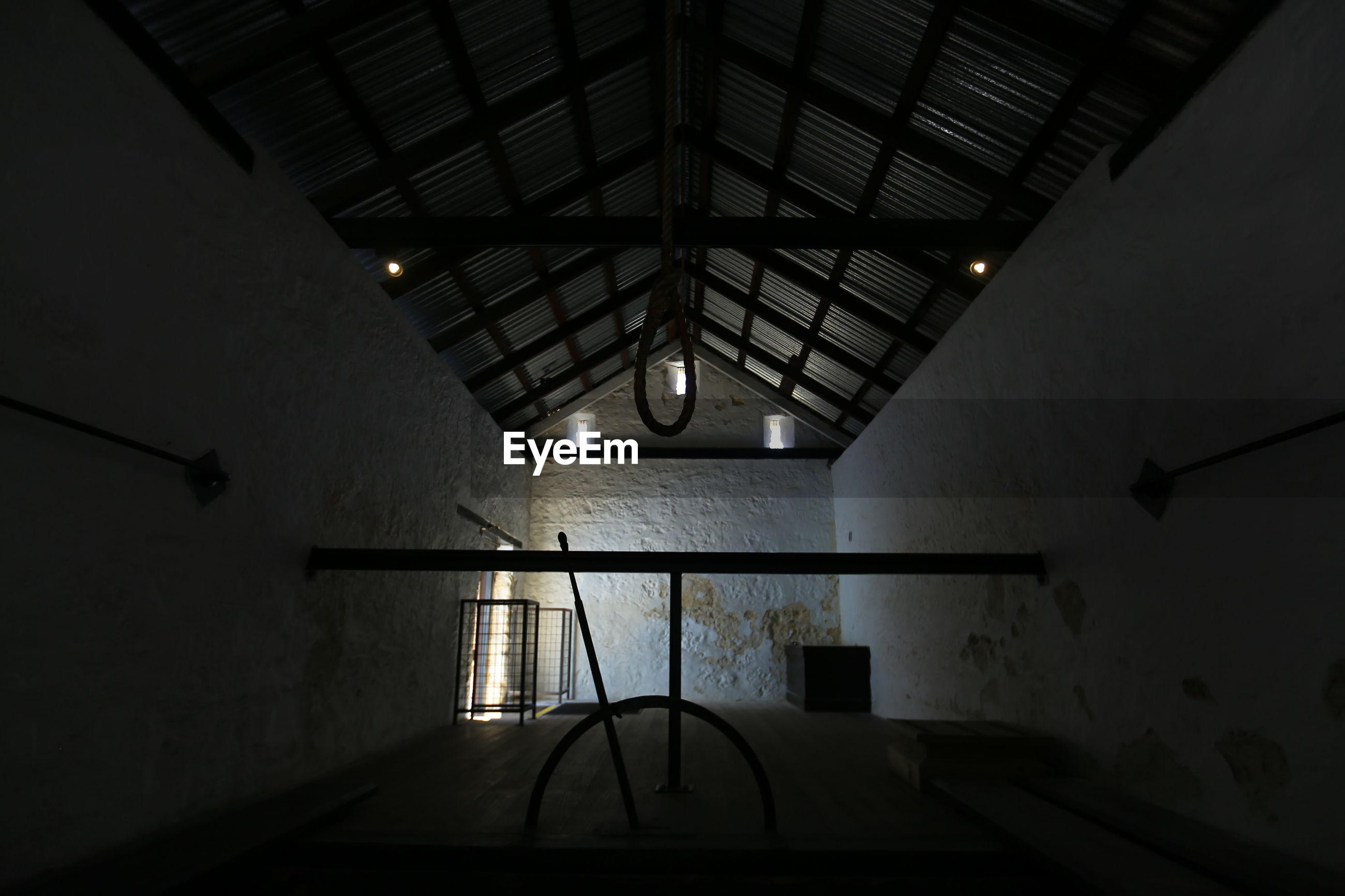 Interior of fremantle prison