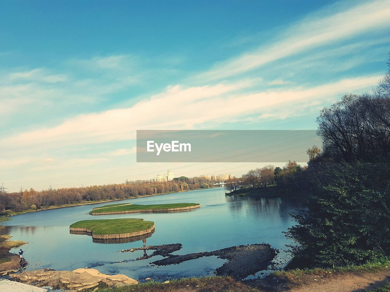 water, sky, no people, tree, nature, river, tranquility, outdoors, cloud - sky, scenics, beauty in nature, architecture, built structure, day, city, cityscape