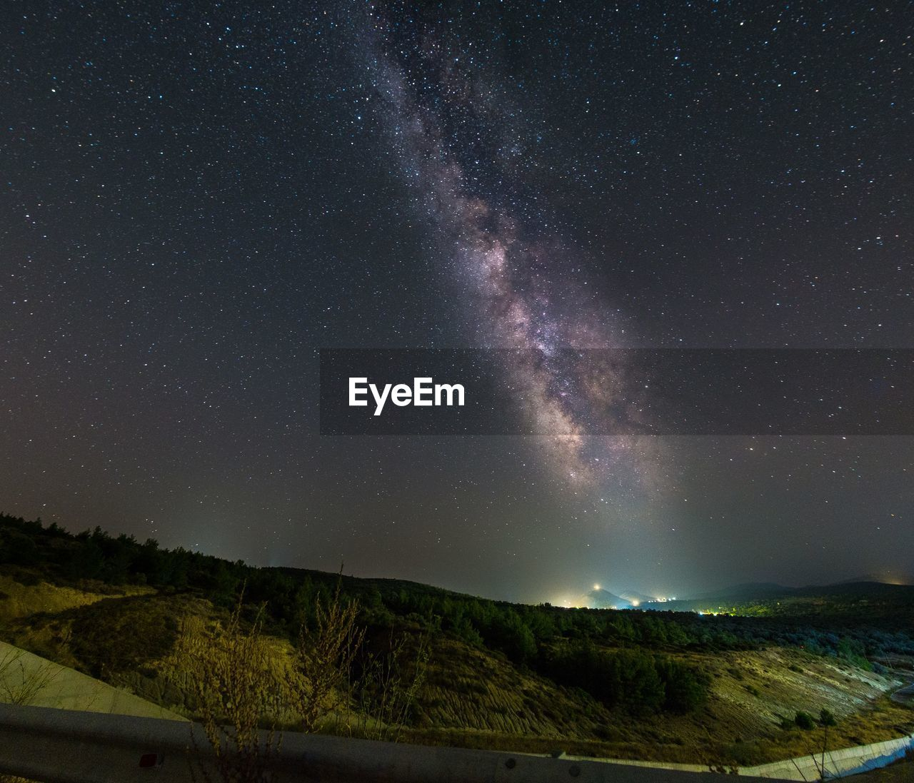 night, scenics - nature, astronomy, beauty in nature, star - space, sky, space, tranquil scene, tranquility, galaxy, nature, star, mountain, star field, no people, milky way, environment, landscape, non-urban scene, idyllic, outdoors, space and astronomy