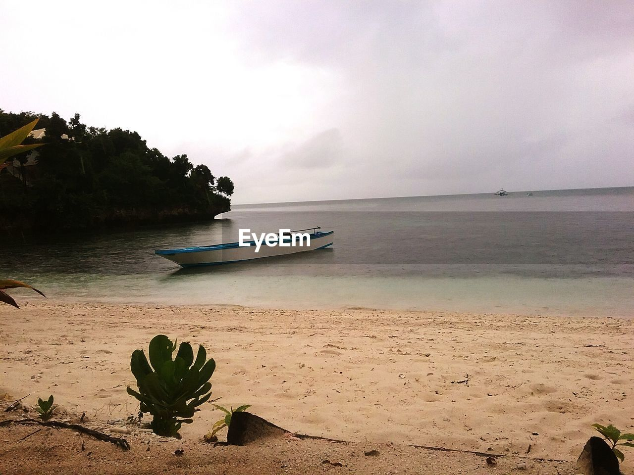water, sky, sea, beauty in nature, scenics - nature, beach, tranquil scene, nautical vessel, land, tranquility, sand, nature, horizon, transportation, plant, cloud - sky, horizon over water, mode of transportation, non-urban scene, no people, outdoors