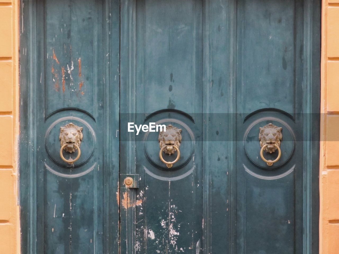 entrance, door, metal, safety, wood - material, no people, closed, security, protection, close-up, old, day, knob, door knocker, full frame, handle, backgrounds, doorknob, outdoors, wood