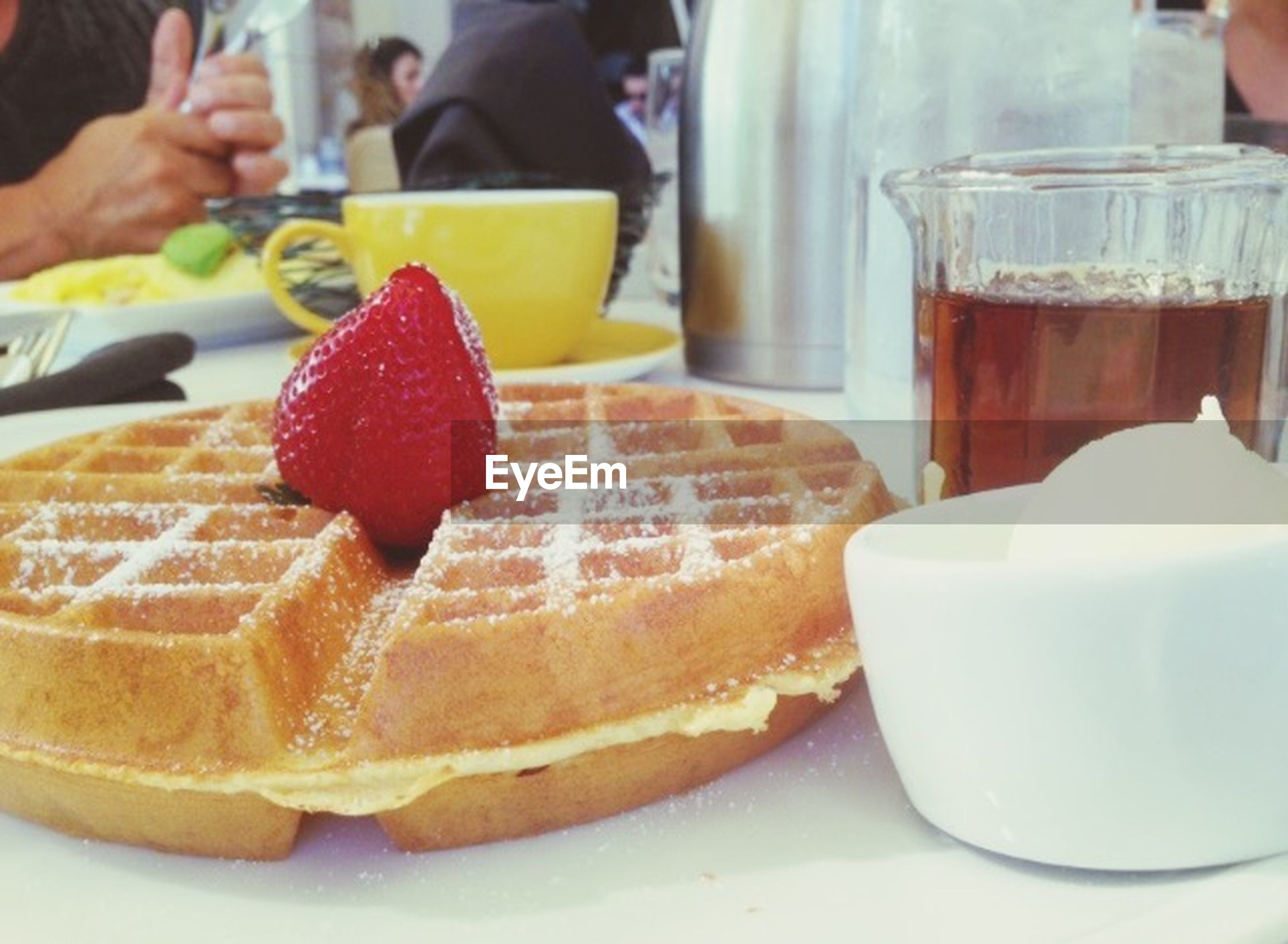 food and drink, indoors, food, freshness, person, sweet food, dessert, indulgence, unhealthy eating, holding, ready-to-eat, table, plate, part of, refreshment, drink, cake
