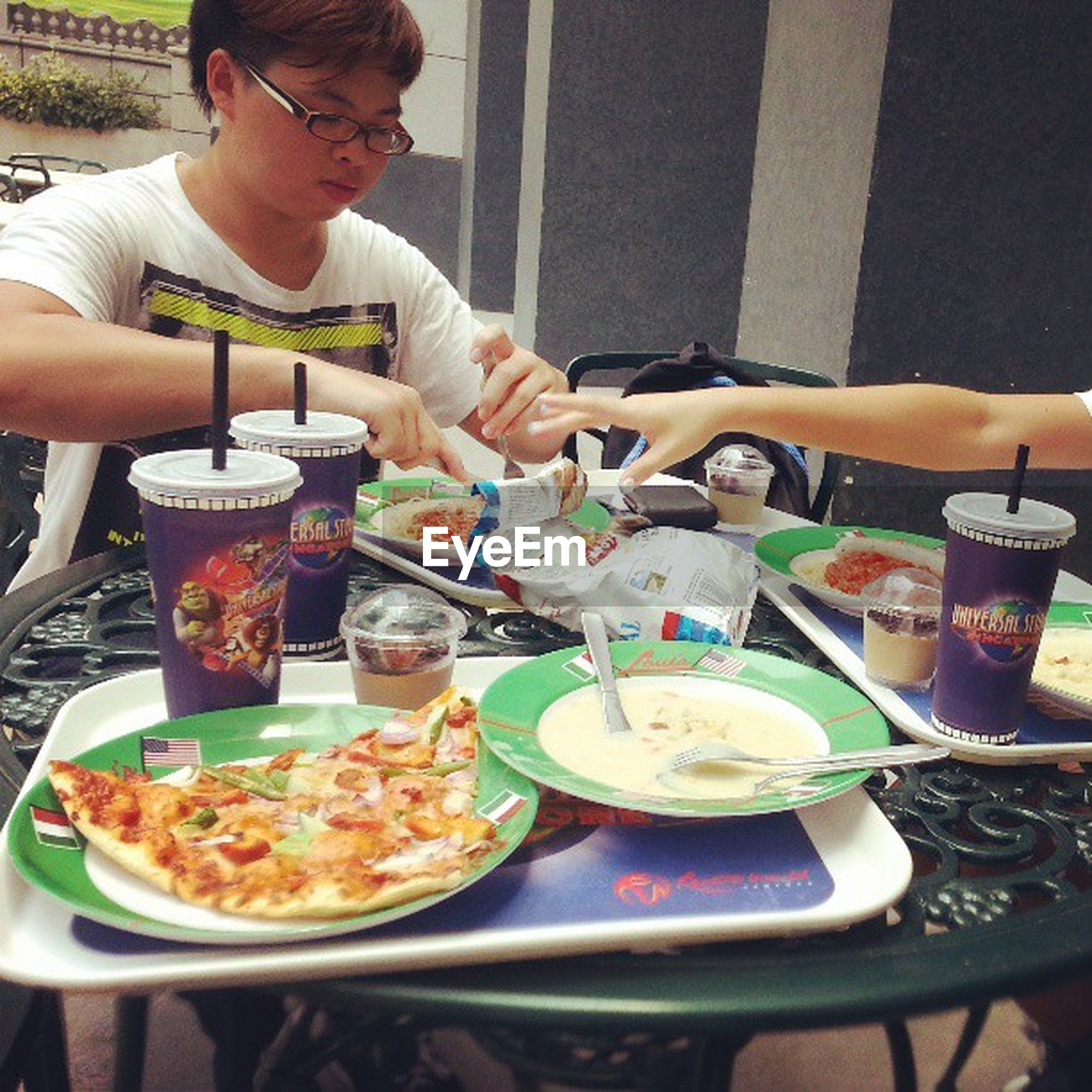 food and drink, food, freshness, plate, person, ready-to-eat, indoors, holding, healthy eating, lifestyles, table, meal, leisure activity, eating, serving size, drink, men, midsection