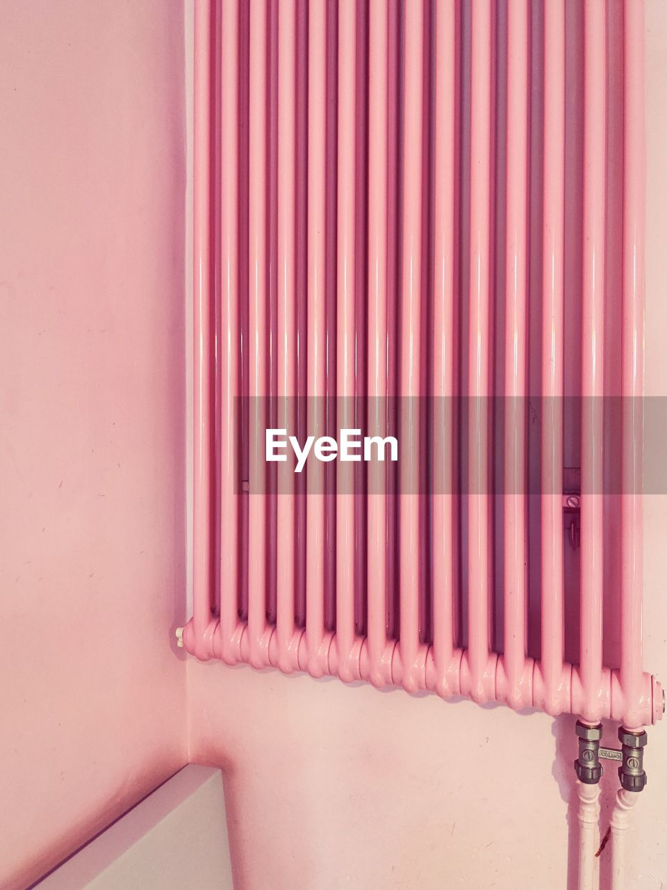 pink color, wall - building feature, built structure, no people, architecture, indoors, red, pattern, close-up, metal, day, wall, house, pipe - tube, building, control, connection