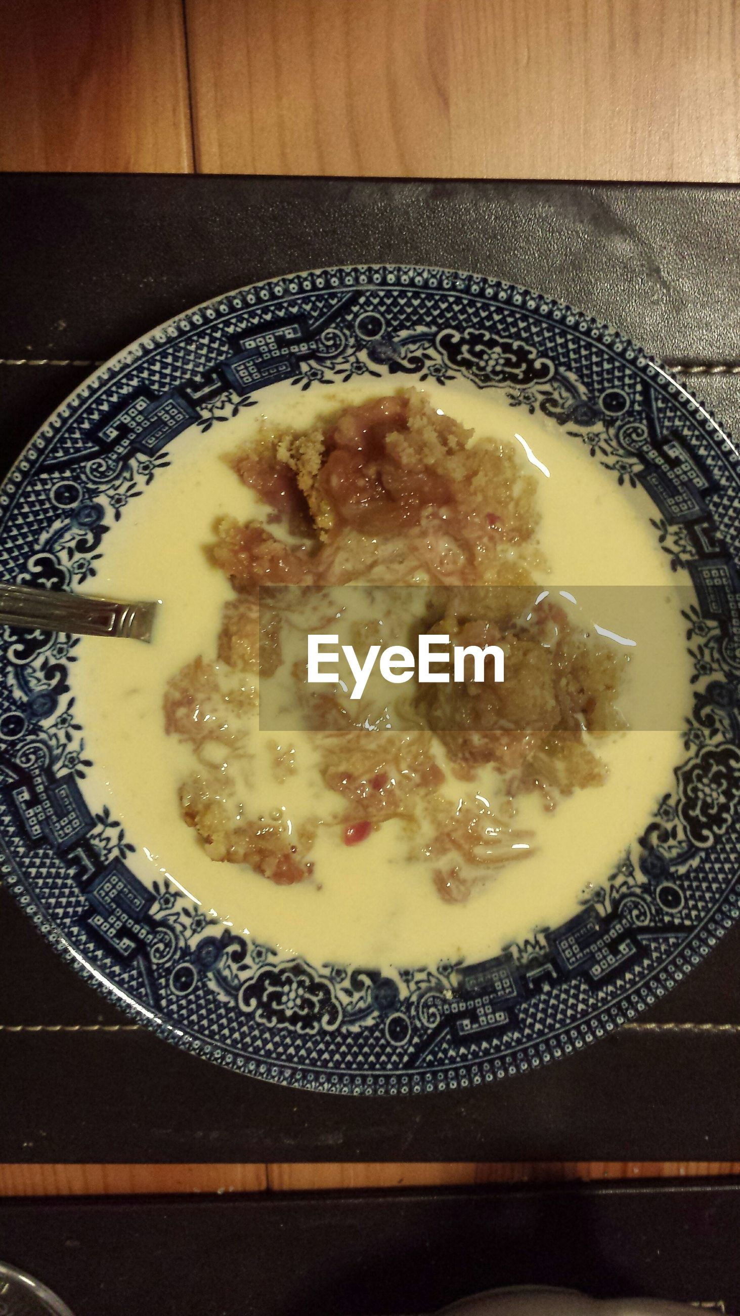 food and drink, food, indoors, freshness, ready-to-eat, plate, bowl, still life, meal, serving size, close-up, table, high angle view, healthy eating, indulgence, soup, spoon, temptation, no people, directly above
