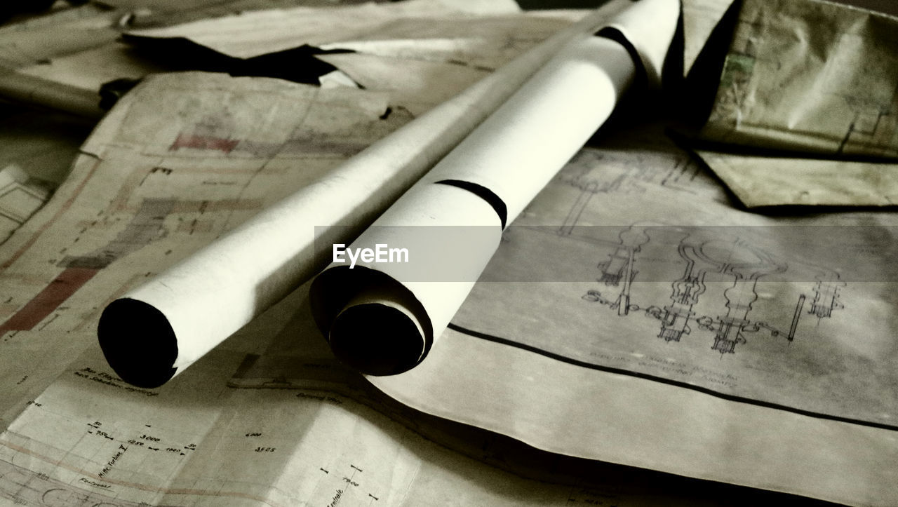 paper, indoors, no people, communication, table, close-up, musical note, day