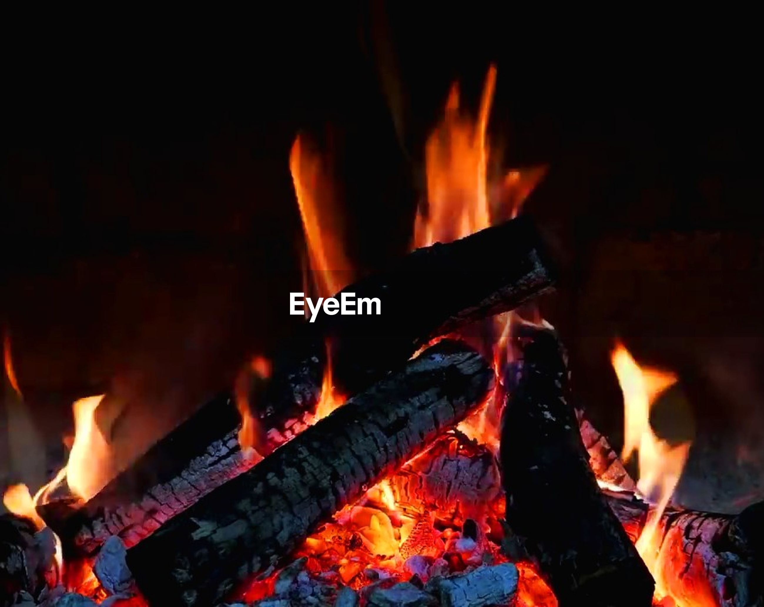 burning, fire, heat - temperature, fire - natural phenomenon, flame, firewood, log, wood - material, wood, nature, orange color, no people, close-up, motion, glowing, bonfire, night, camping, outdoors, environment, campfire
