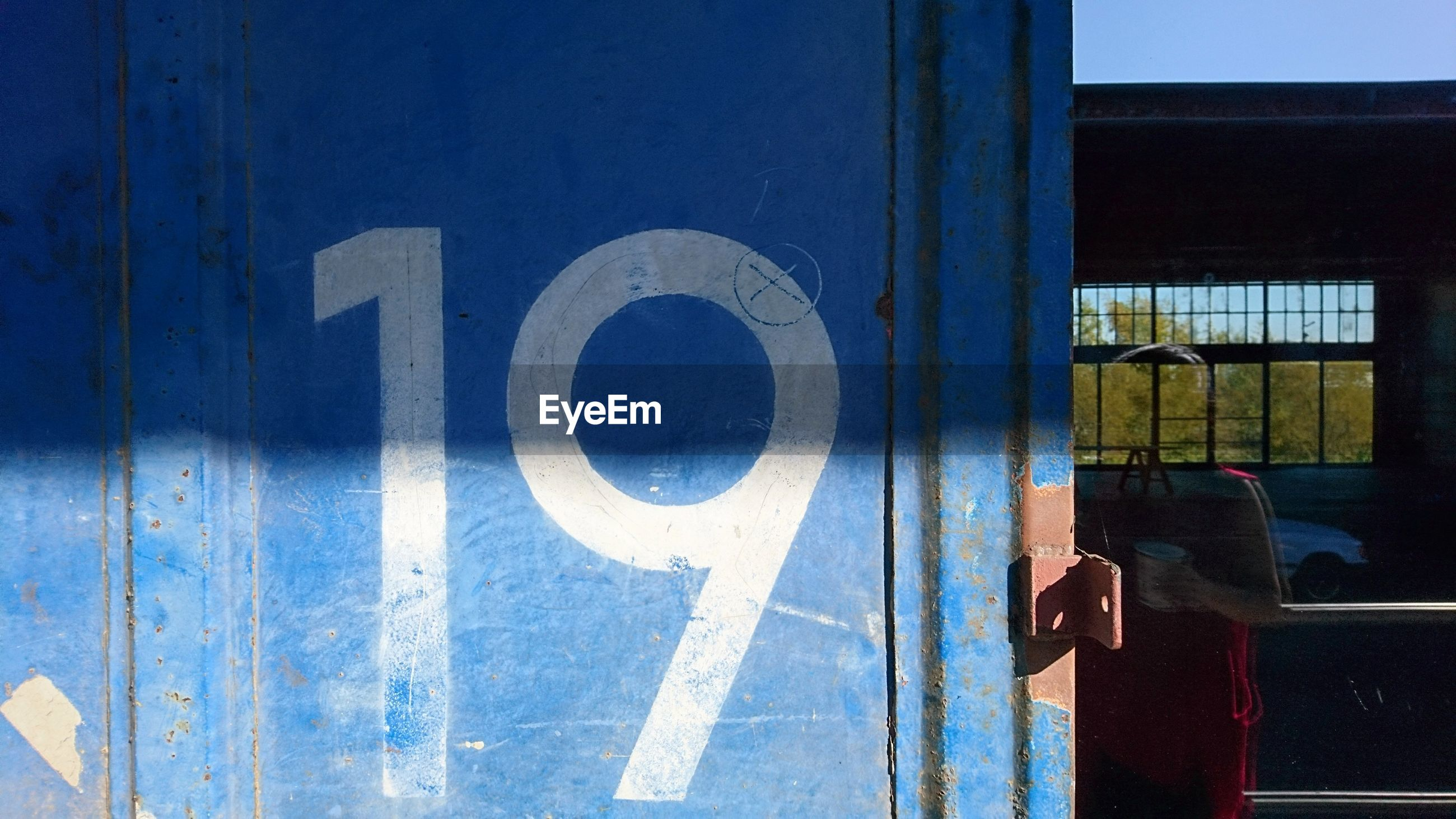 number, communication, day, no people, outdoors, blue, architecture, close-up