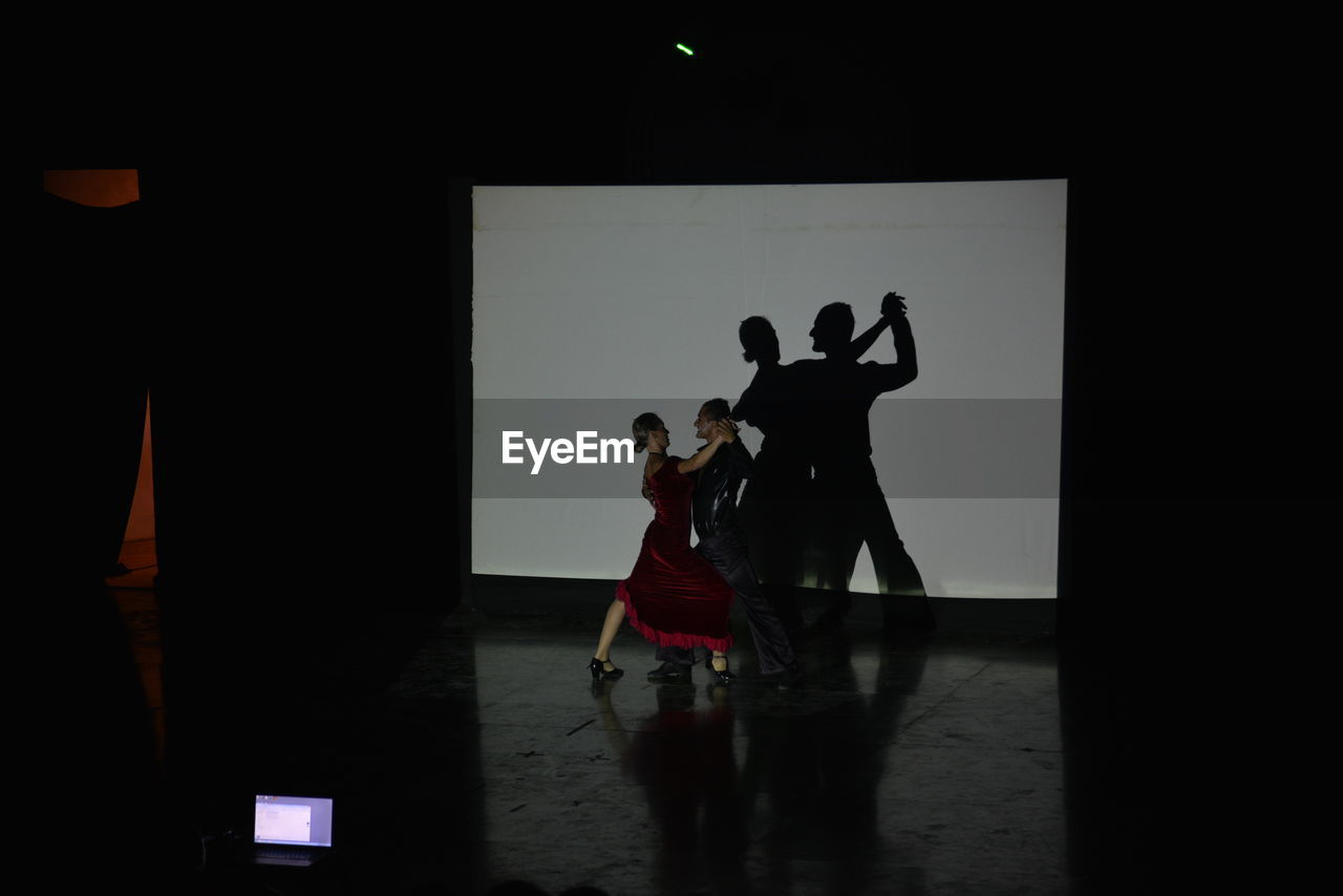performance, indoors, full length, standing, playing, skill, performing arts event, men, real people, basketball - sport, sportsman, actor, adult, people
